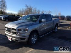 2019 Ram 1500 BIGHORN CREW CAB 4X4, AT, 5.7 liter HEMI V-8 engine, back up camera, trailer tow