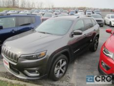 2019 Jeep Cherokee Limited, AT, full power options, leather interior, 21,659 miles, VIN #