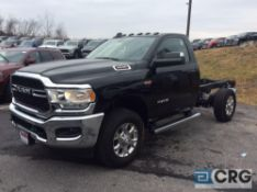 2019 Ram 3500 HEAVY DUTY HEMI 6.4 liter cab and chassis, running boards, gas engine, 4X4, towing/
