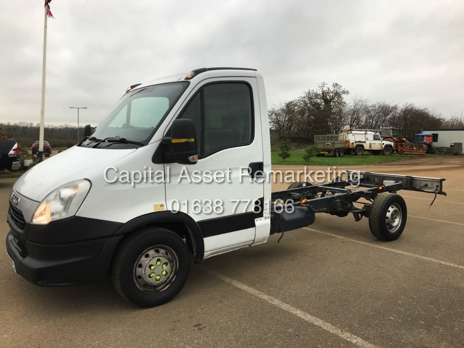 Lot 13 - (ON SALE) IVECO DAILY 35S11 LONG WHEEL BASE CHASSIS CAB - 64 REG - IDEAL RECOVERY / SCAFFOLD TRUCK