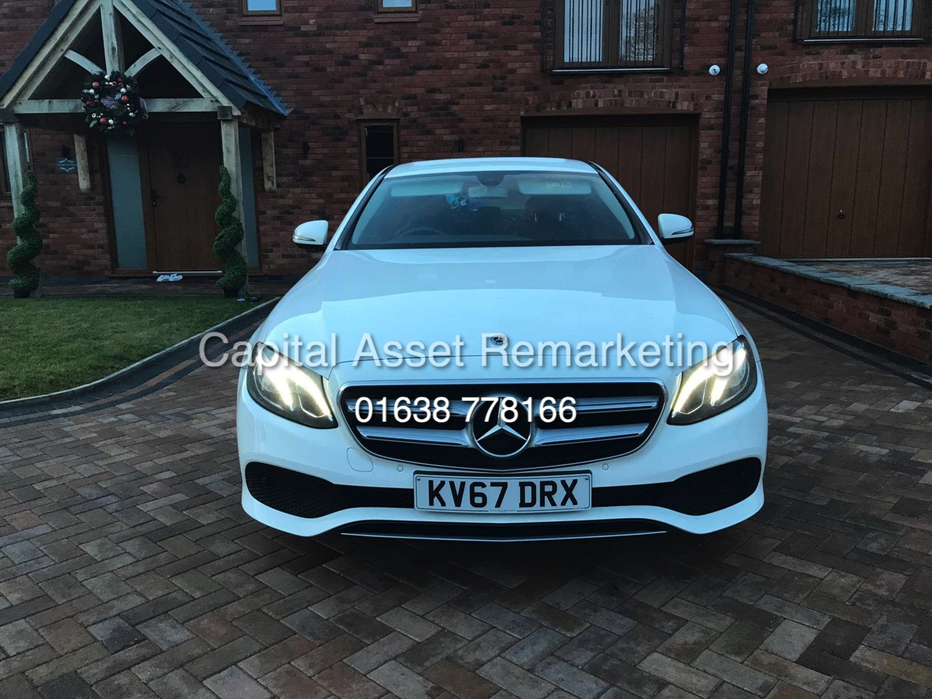 "Lot 2 - On Sale MERCEDES E220d ""SE"" 9G AUTO ""SPECIAL EQUIPMENT EDITION - 67 REG - HUGE SPEC LEATHER SAT NAV"