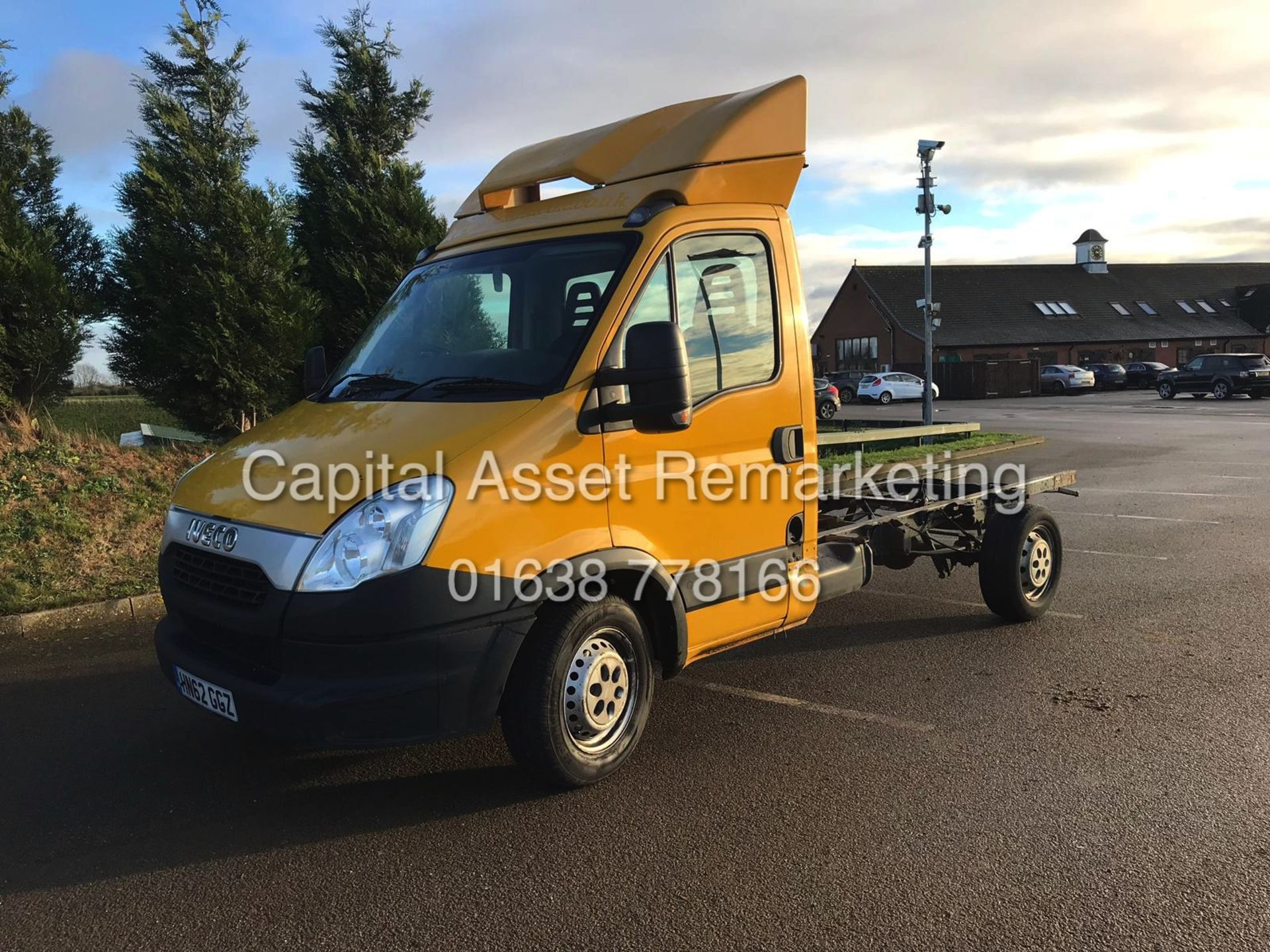 """Lot 27 - ON SALE IVECO DAILY 35S13 """"127BHP"""" CHASSIS CAB (2013 MODEL) IDEAL RECOVERY CONVERSTION"""