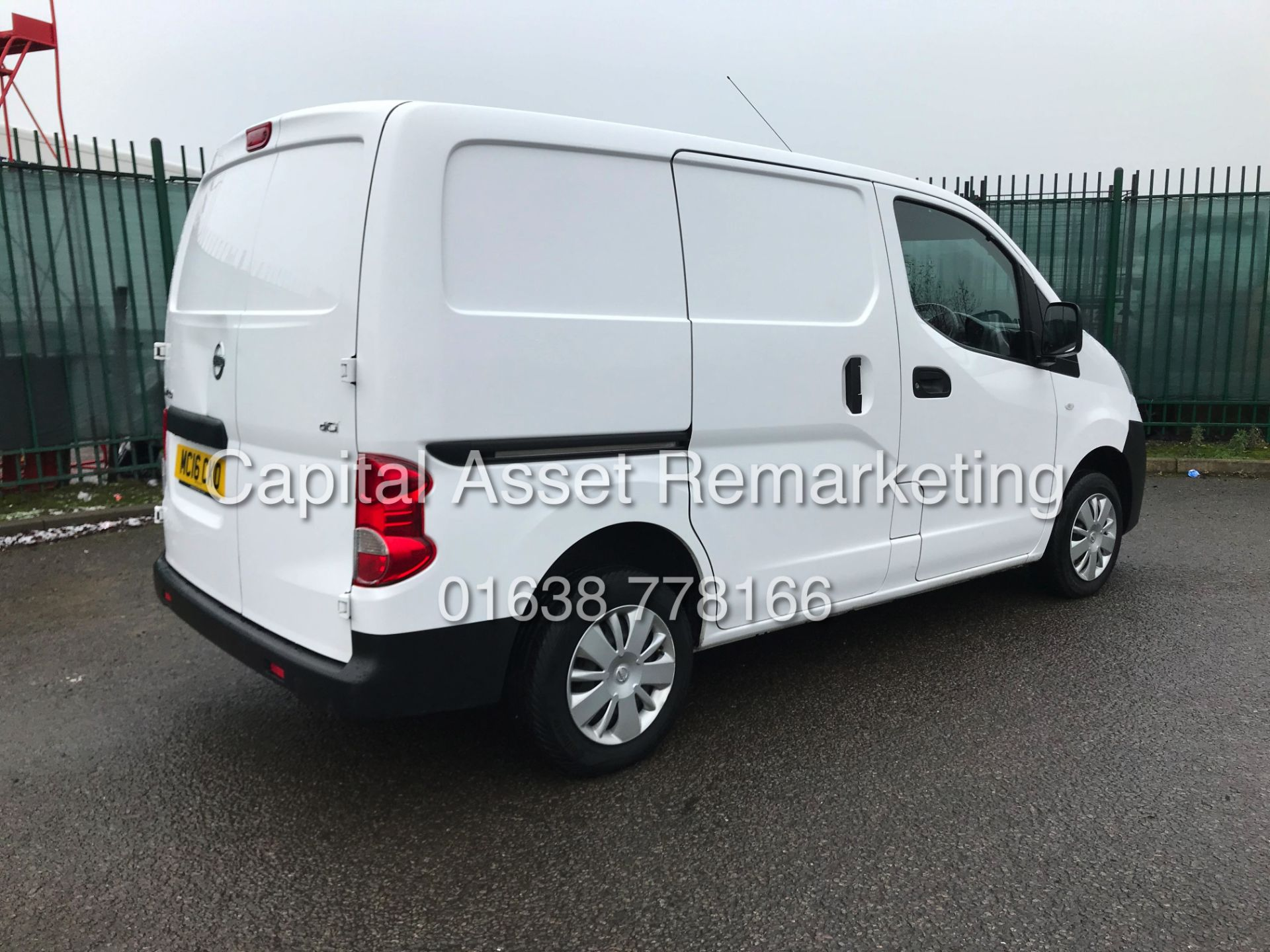 "Lot 9A - NISSAN NV200 ""ACENTA"" (16 REG - NEW SHAPE) 1 OWNER FSH - ELEC PACK - REVERSING CAMARA"