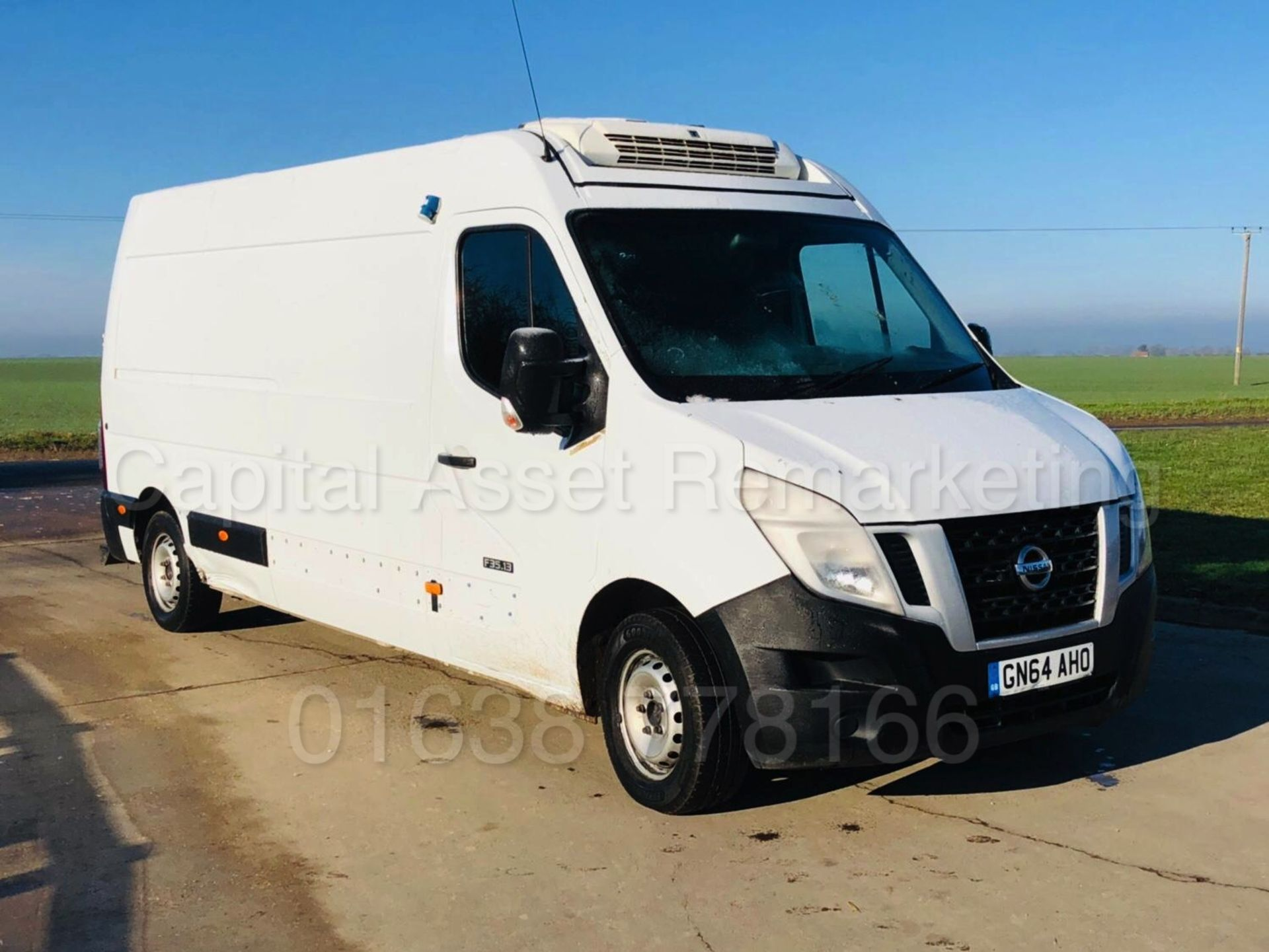 Lot 24 - NISSAN NV400 *LWB - REFRIGERATED / PANEL VAN* (2015 MODEL) '2.3 DCI - 6 SPEED' *THERMO KING*