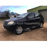 Lot 10 - MERCEDES ML320CDI AUTOMATIC (2007 MODEL) SPECIAL EQUIPMENT - NEW SHAPE - BLACK -NO VAT *GREAT SPEC*