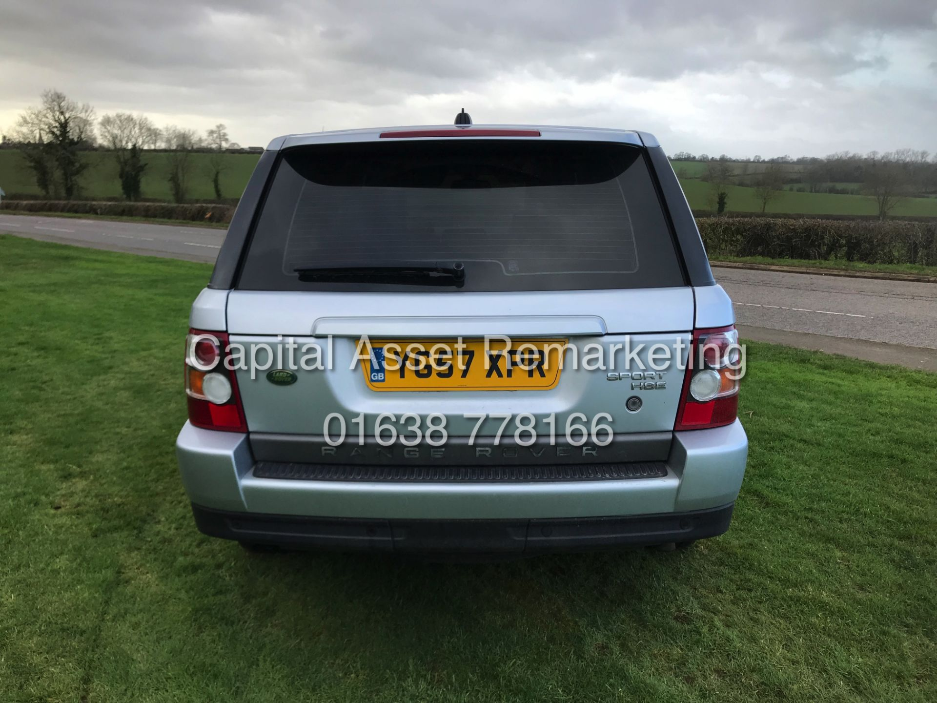 "Lot 10A - (On Sale) RANGE ROVER SPORT ""HSE - AUTO"" 3.6TDV8 (2008 MODEL) -SAT NAV -LEATHER -272BHP (NO VAT)"