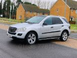 Lot 11 - (On Sale) MERCEDES-BENZ ML 350 CDI *SPORT* (60 REG) '3.0 DIESEL - 231 BHP - AUTO' **HUGE SPEC**
