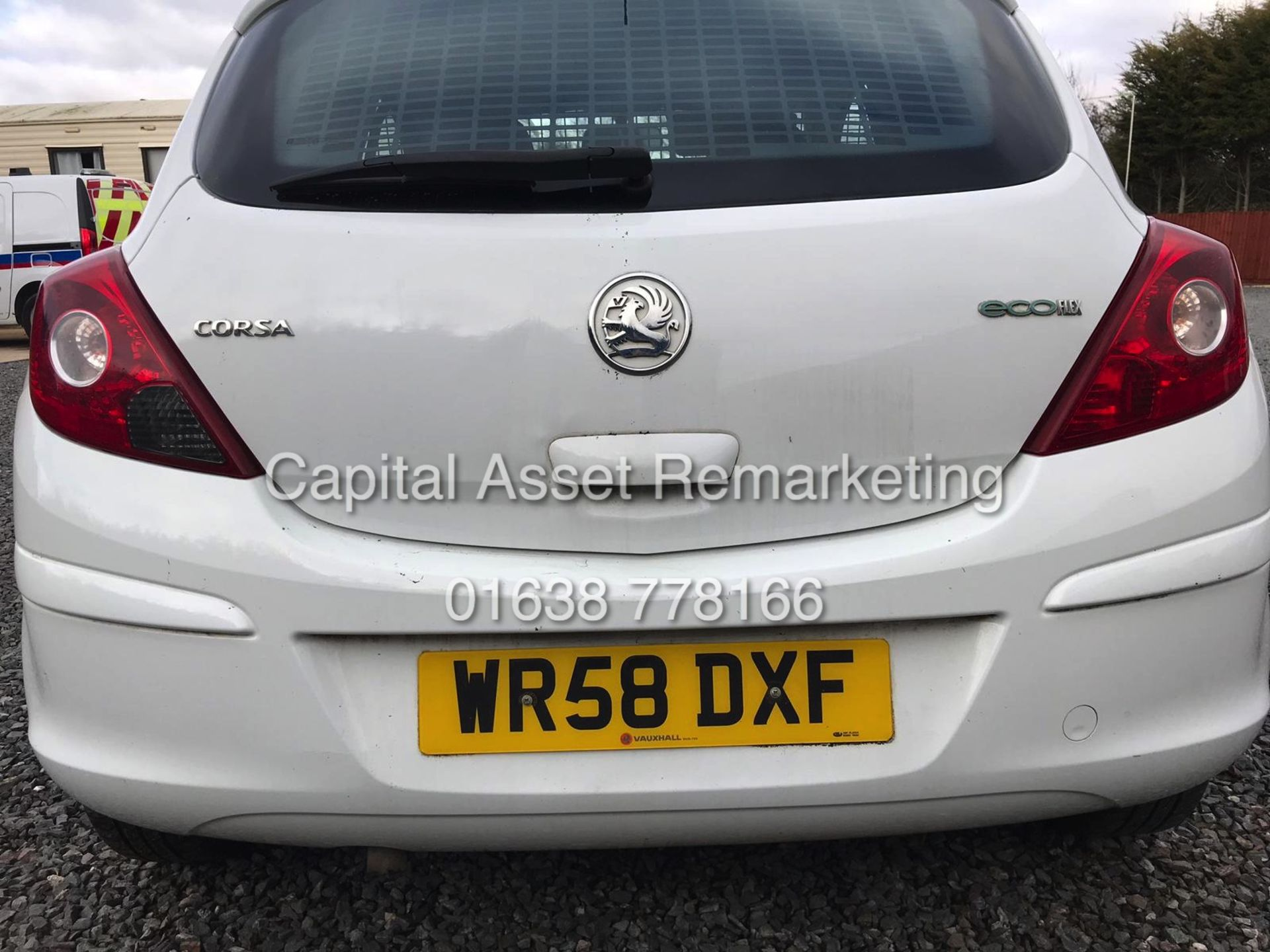 Lot 12 - VAUXHALL CORSA 1.3CDTI COMMERCIAL / VAN (58 REG) ONLY 74K