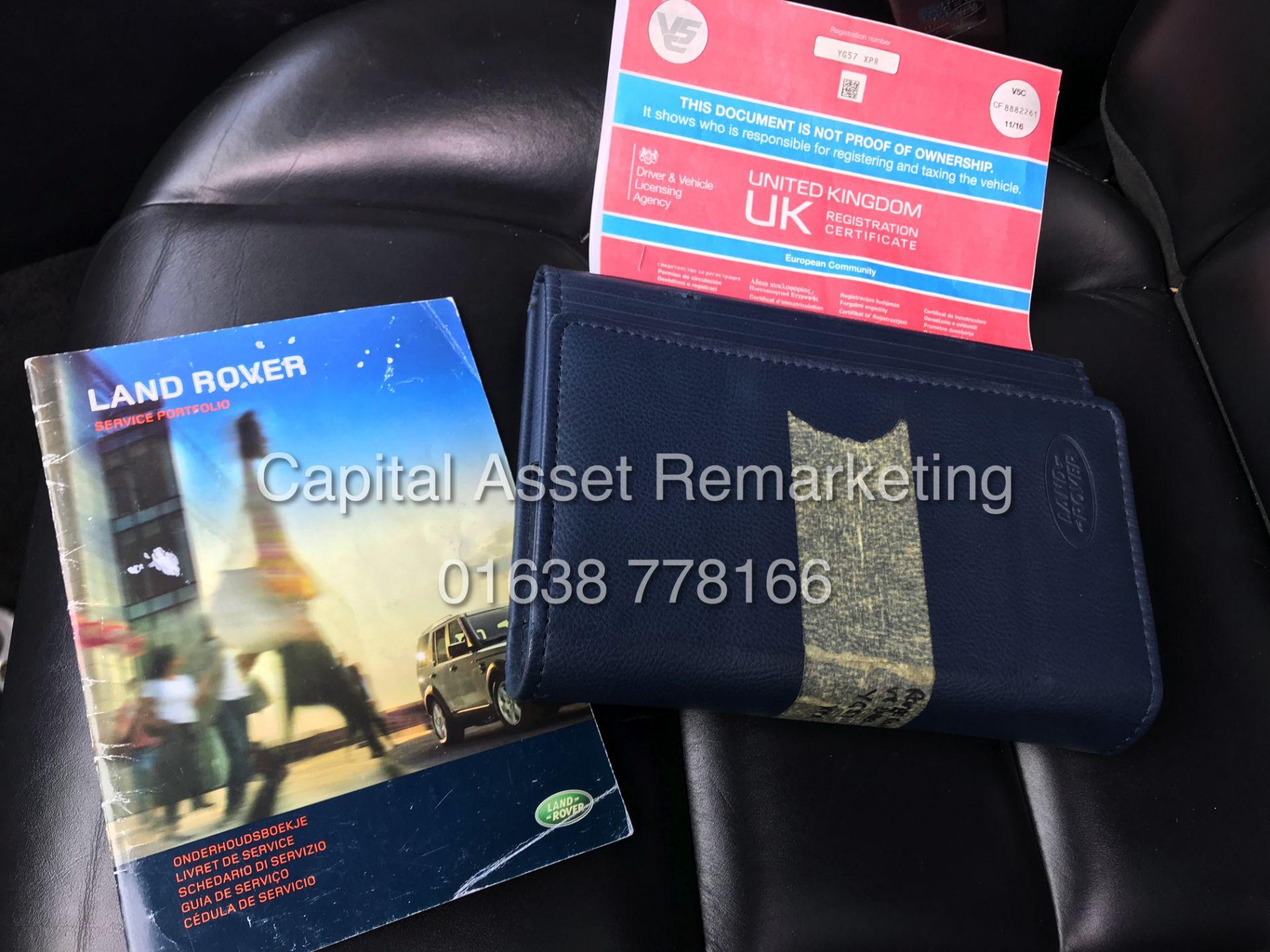 "Lot 10A - (On Sale) RANGE ROVER SPORT ""HSE - AUTO"" 3.6TDV8 (2008 MODEL) -SAT NAV -LEATHER -272BHP (NO VAT)"
