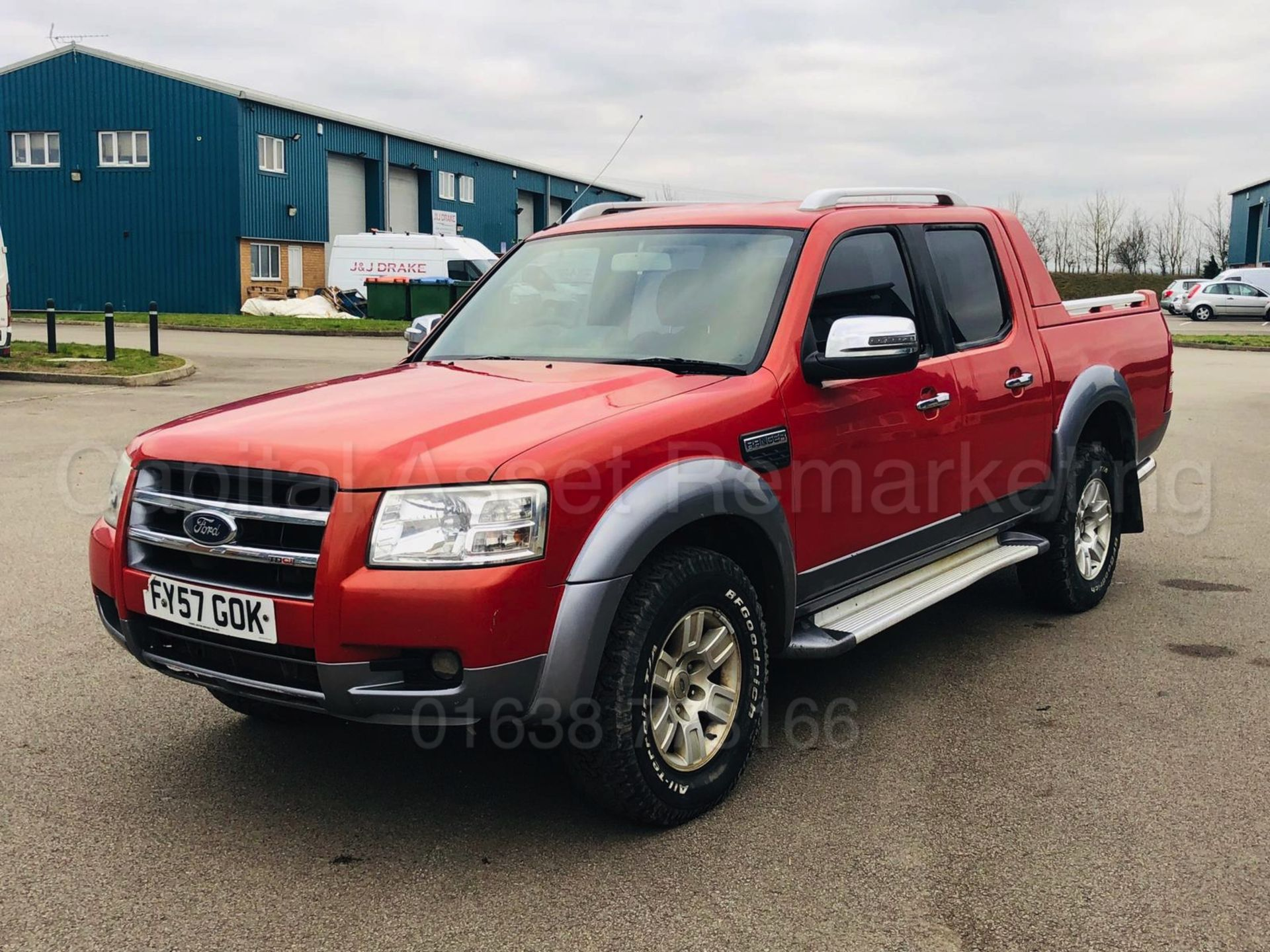 Lot 18A - (On Sale) FORD RANGER *WILDTRAK EDITION* D/CAB PICK-UP (57 REG) '3.0 TDCI - 5 SPEED' **AIR CON**