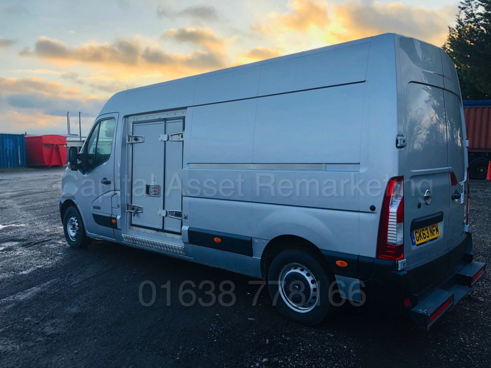 Lot 13 - (ON SALE) NISSAN NV400 *SE EDITION* 'FRIDGE / FREEZER VAN' (2014 MODEL) '2.3 DCI' *THERMO KING*