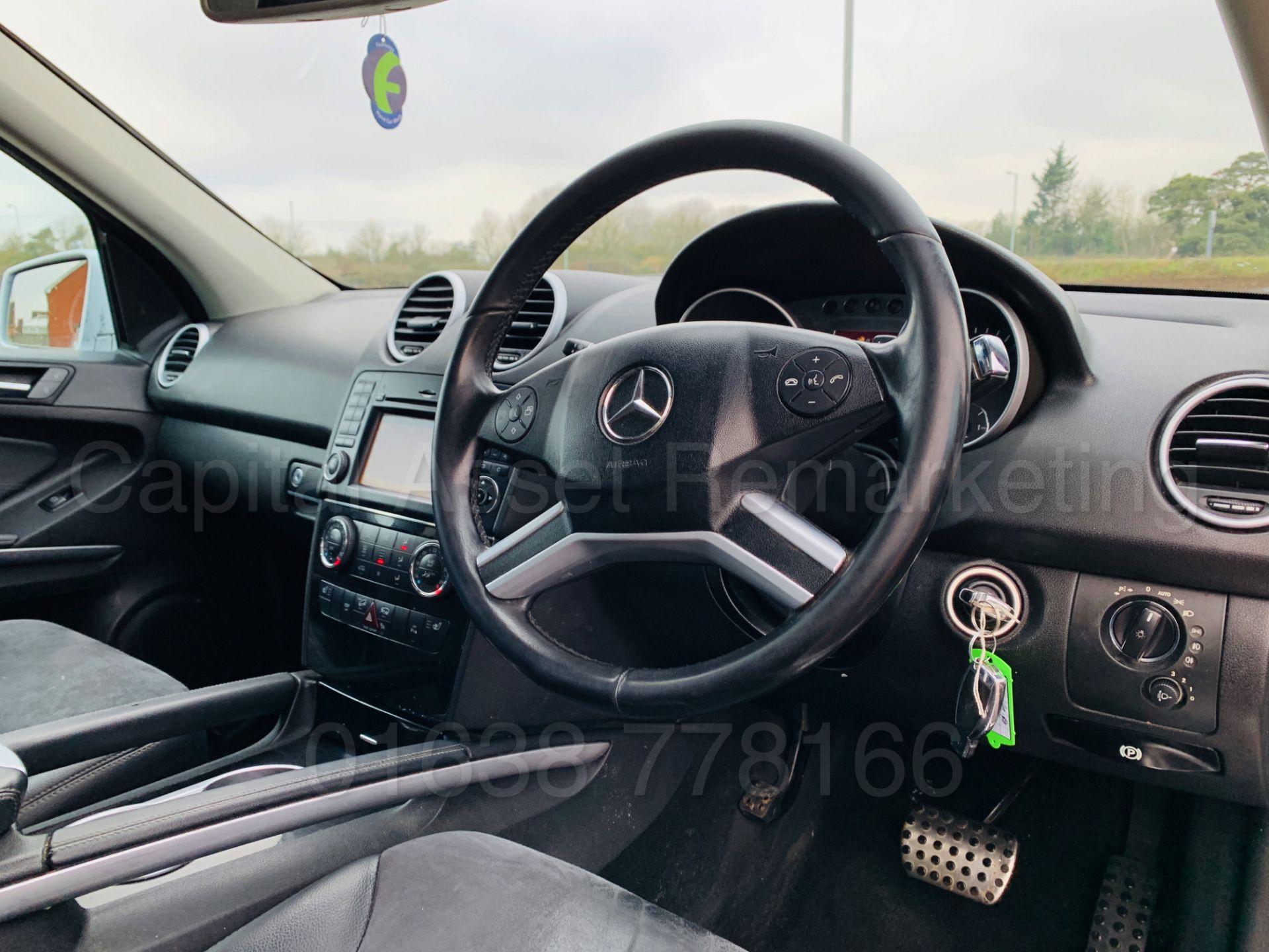 Lot 11 - (On Sale) MERCEDES-BENZ ML 350 CDI *SPORT* (60 REG) '3.0 DIESEL - 231 BHP - AUTO' **HUGE SPEC**