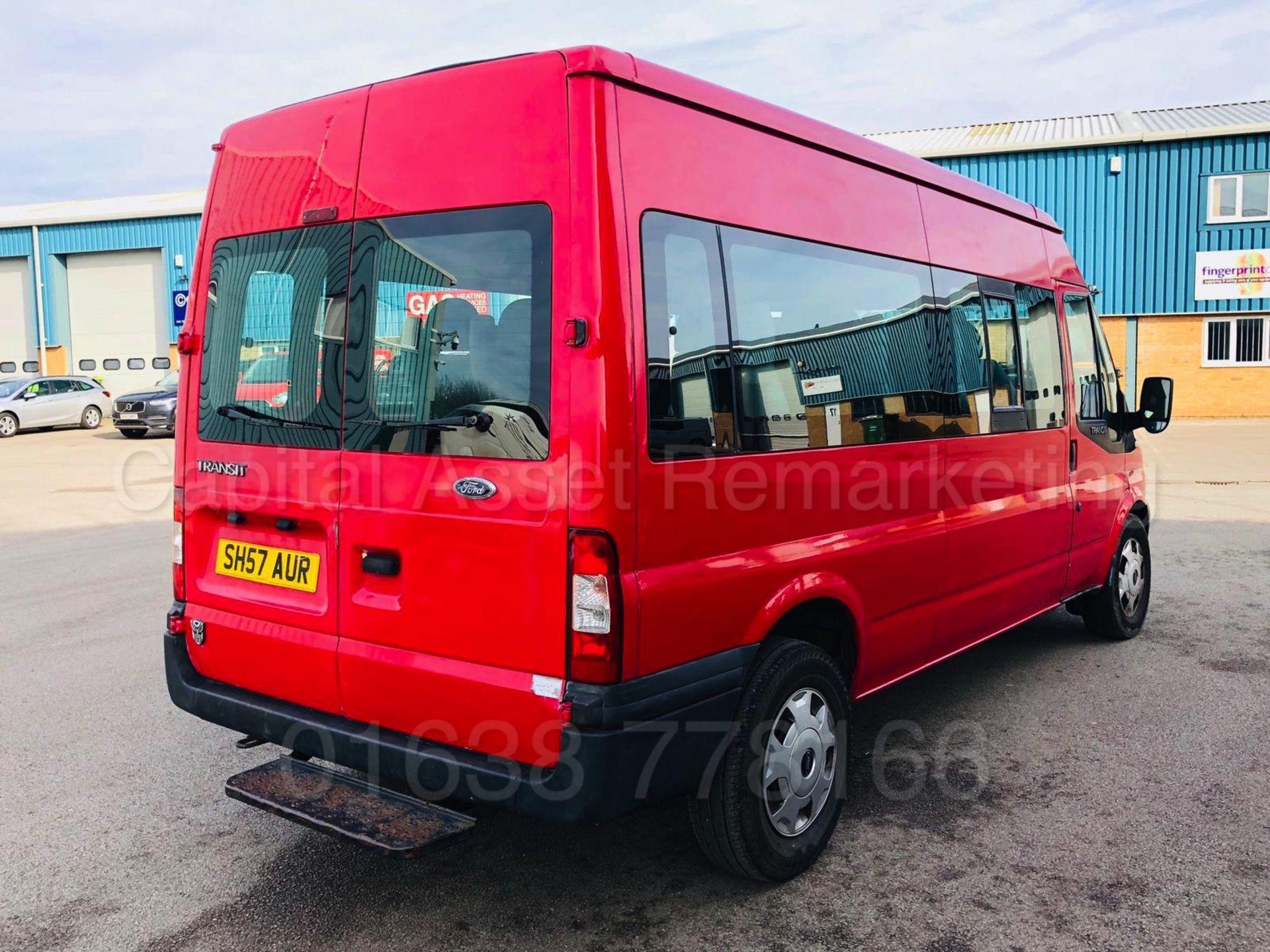 Lot 22 - FORD TRANSIT *LWB - 15 SEATER MINI-BUS* (2008 MODEL) '2.4 TDCI - 100 BHP - 5 SPEED'