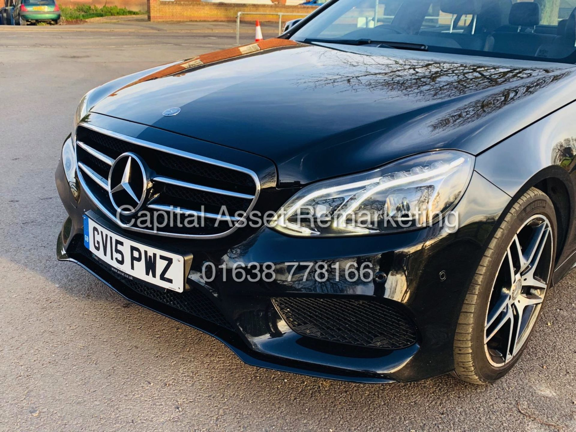 "Lot 1 - (On Sale) MERCEDES E220D 7G TRONIC ""AMG PREMIUM- NIGHT EDITION"" MASSIVE SPEC (2015) SAT NAV-PAN ROOF"