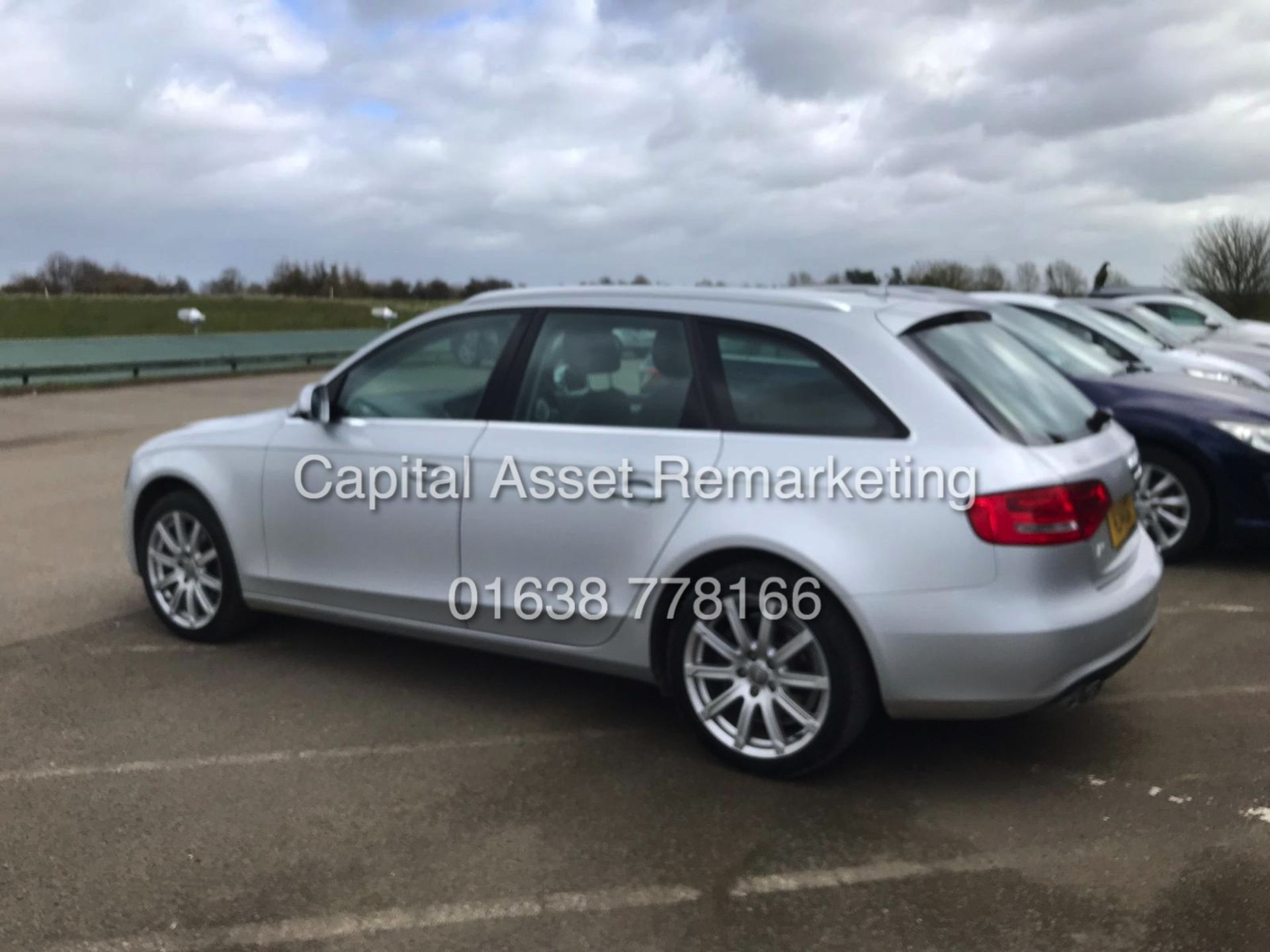"Lot 19 - (ON SALE) AUDI A4 ""SE TECHNIK"" AVANT / ESTATE 2.0TDI ""150BHP - AUTO"" (14 REG) SAT NAV - LEATHER"