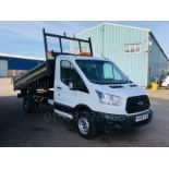 Lot 7 - (On Sale) FORD TRANSIT T350 *SINGLE CAB - TIPPER* (65 REG) '2.2 TDCI -125 BHP - 6 SPEED' **3500 KG**