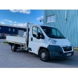 Lot 20 - (On Sale) CITROEN RELAY 35 *LCV - DROPSIDE TRUCK* (60 REG) '2.2 HDI -120 BHP- 6 SPEED' **LOW MILES**