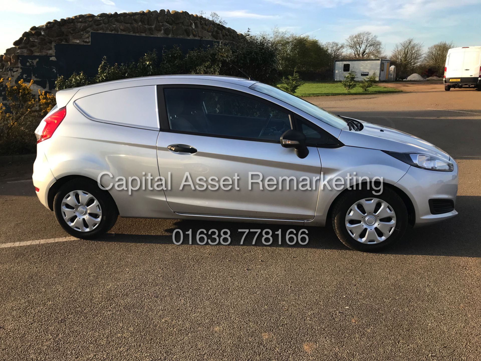 """Lot 13 - FORD FIESTA 1.5TDCI """"SPORTS STYLE"""" COMMERCIAL VAN (16 REG NEW SHAPE) 1 OWNER FSH - AIR CON-ELEC PACK"""