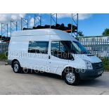 (On Sale) FORD TRANSIT T350 *LWB-MESSING UNIT* (61 REG) '2.4 TDCI -6 SPEED' *61,000 MILES* (1 OWNER)