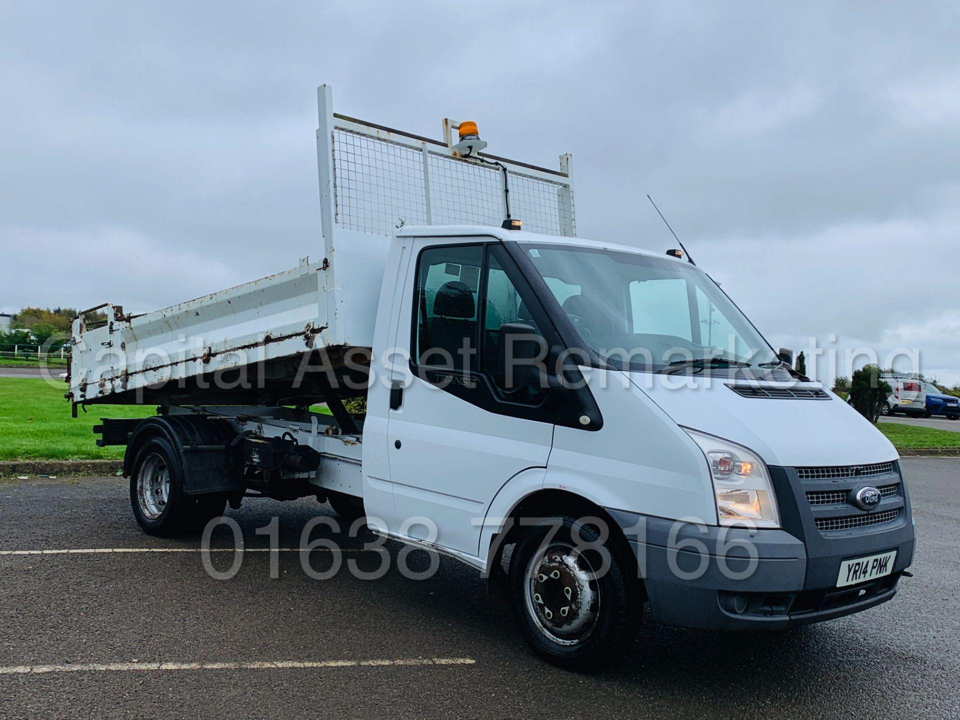 Los 6 - FORD TRANSIT 100 T350L RWD *SINGLE CAB - TIPPER TRUCK* (2014) '2.2 TDCI -100 BHP- 6 SPEED' (3500 KG)