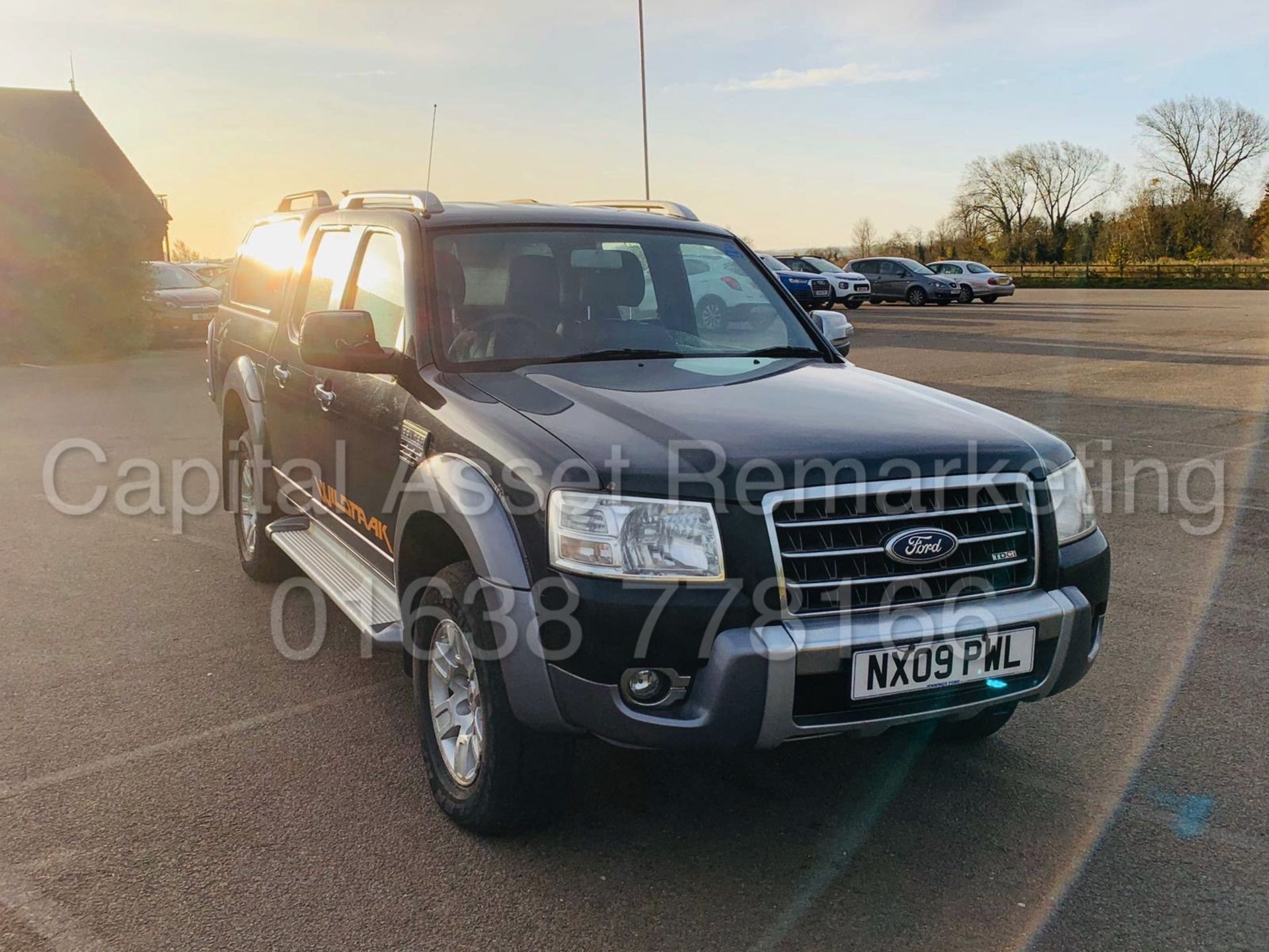Lot 9 - FORD RANGER *WILDTRAK* DOUBLE CAB PICK-UP *4X4* (2009) '3.0 TDCI - 156 BHP* (FULLY LOADED)
