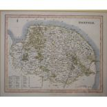 Lot 117 - Eight Fullarton county maps, and six Lewis' Topographical Dictionary maps, all mounted (14)