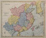 Lot 72 - China. A J Wyld coloured map, China, mounted, 24 x 30 cm, another coloured map of China, mounted,
