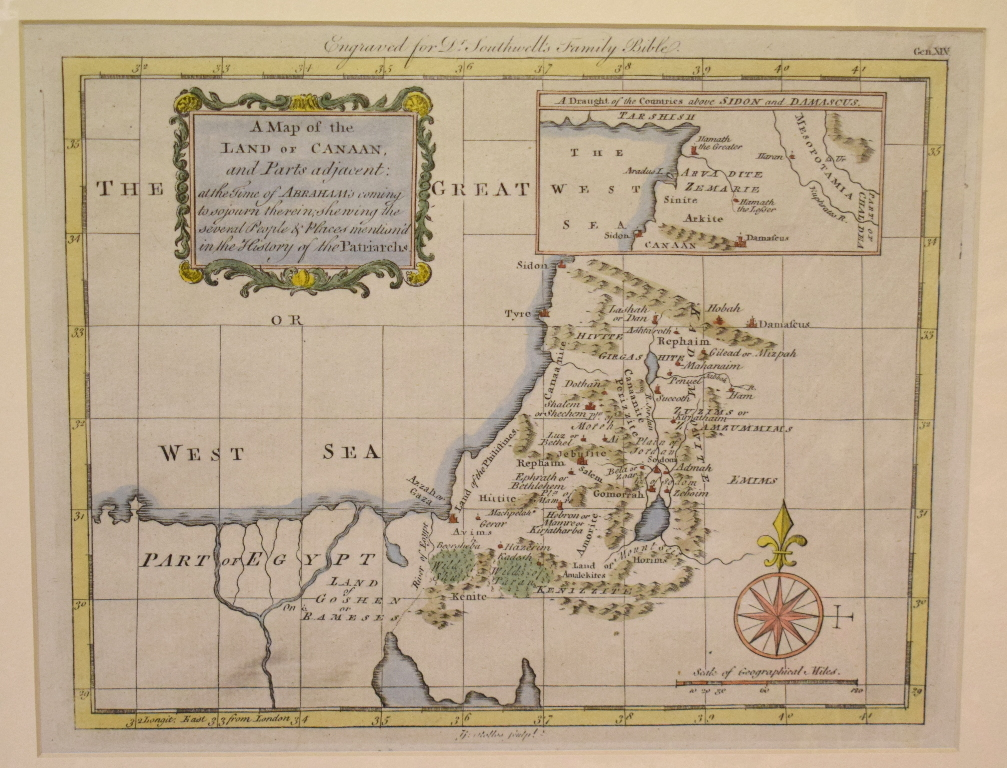 Lot 107 - Assorted world coloured maps, including Persia, Turkey in Asia, Sardinia, Hungary, Egypt and others,