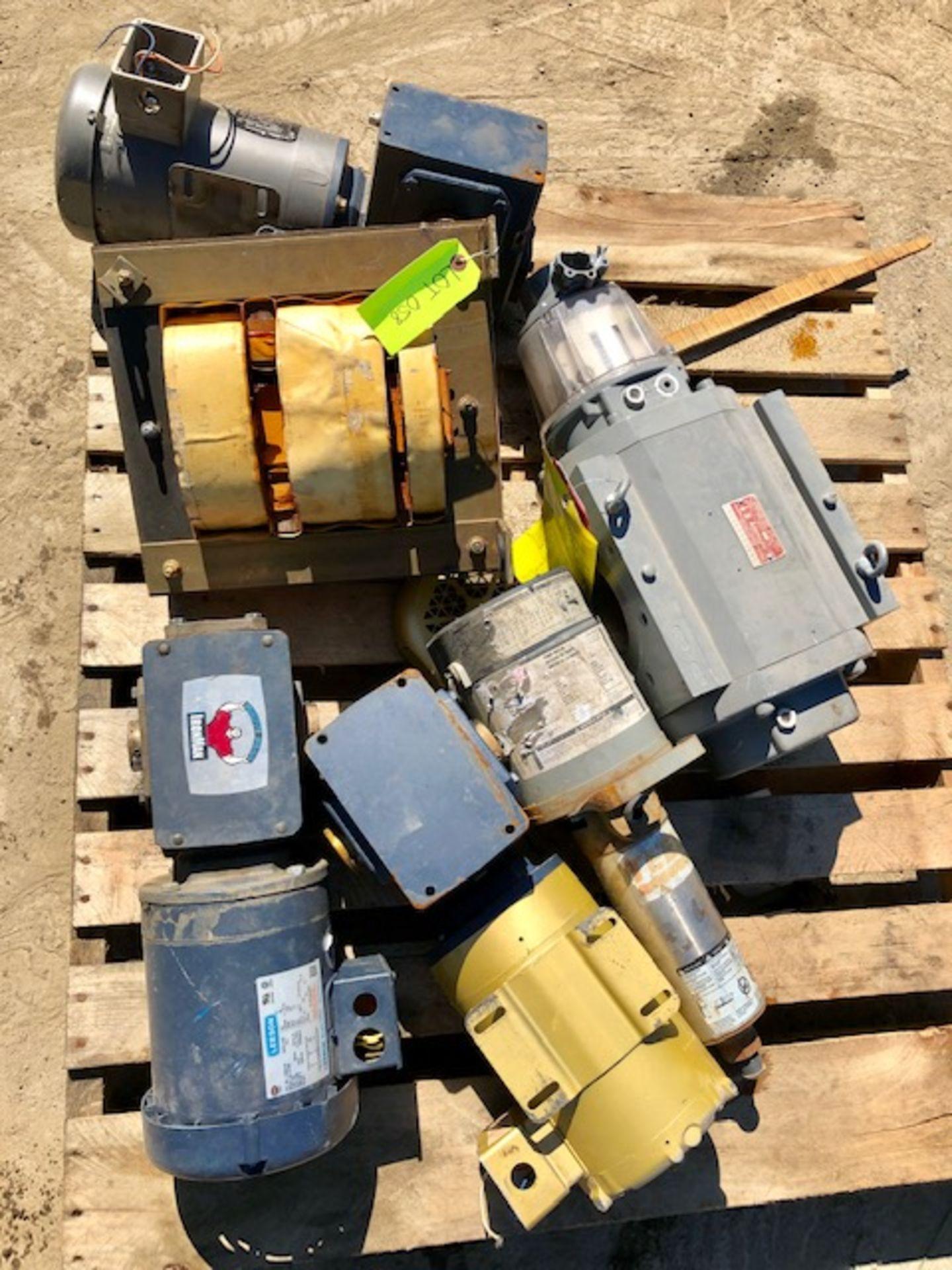 Lot 58 - Assorted motors and drives