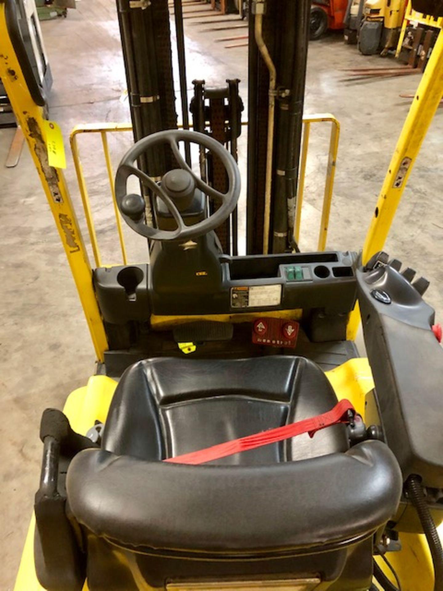 Lot 12 - Hyster forklift J40XN w/48V battery