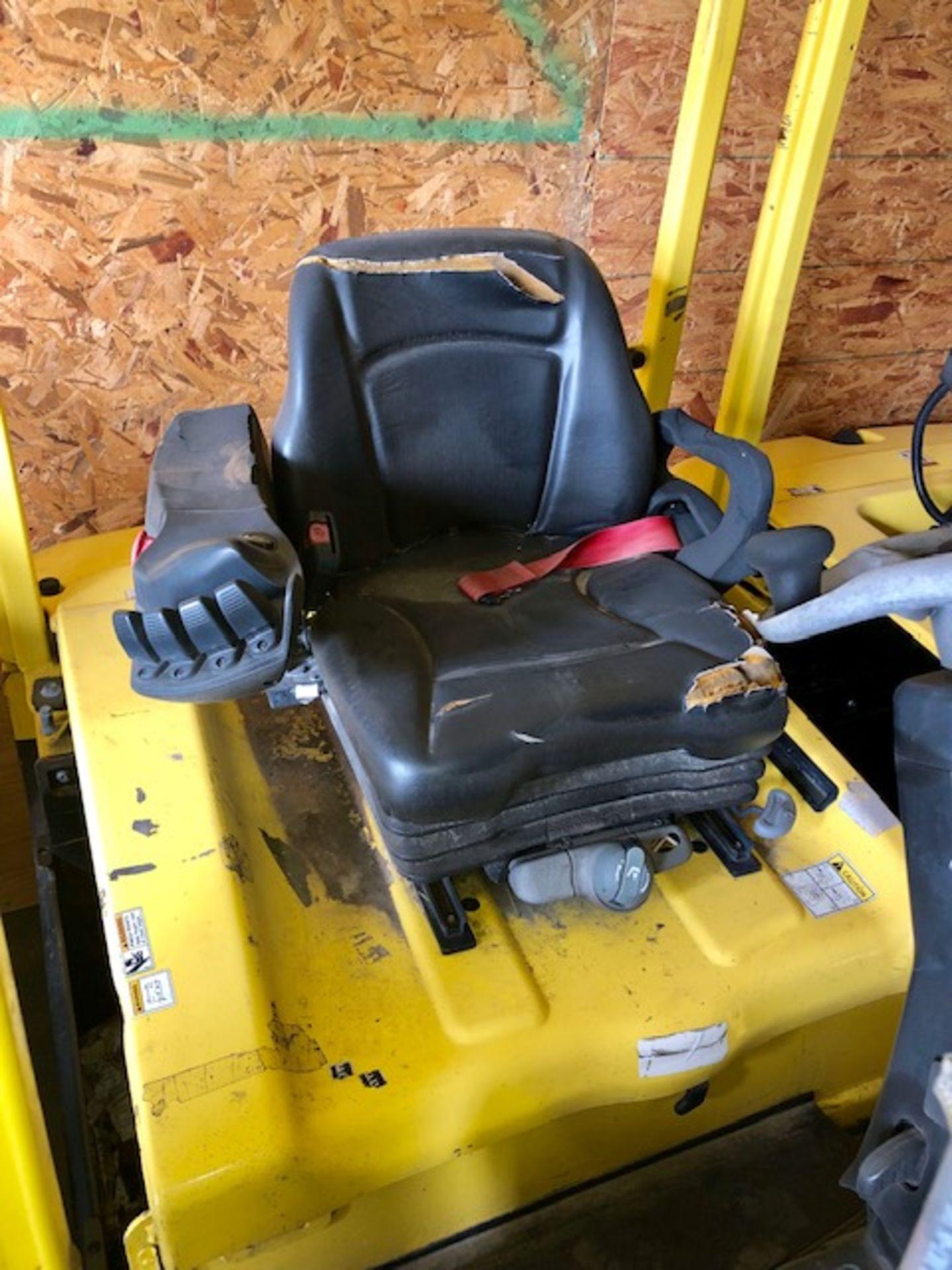 Lot 18 - Hyster forklift J40XN w/o battery 48V