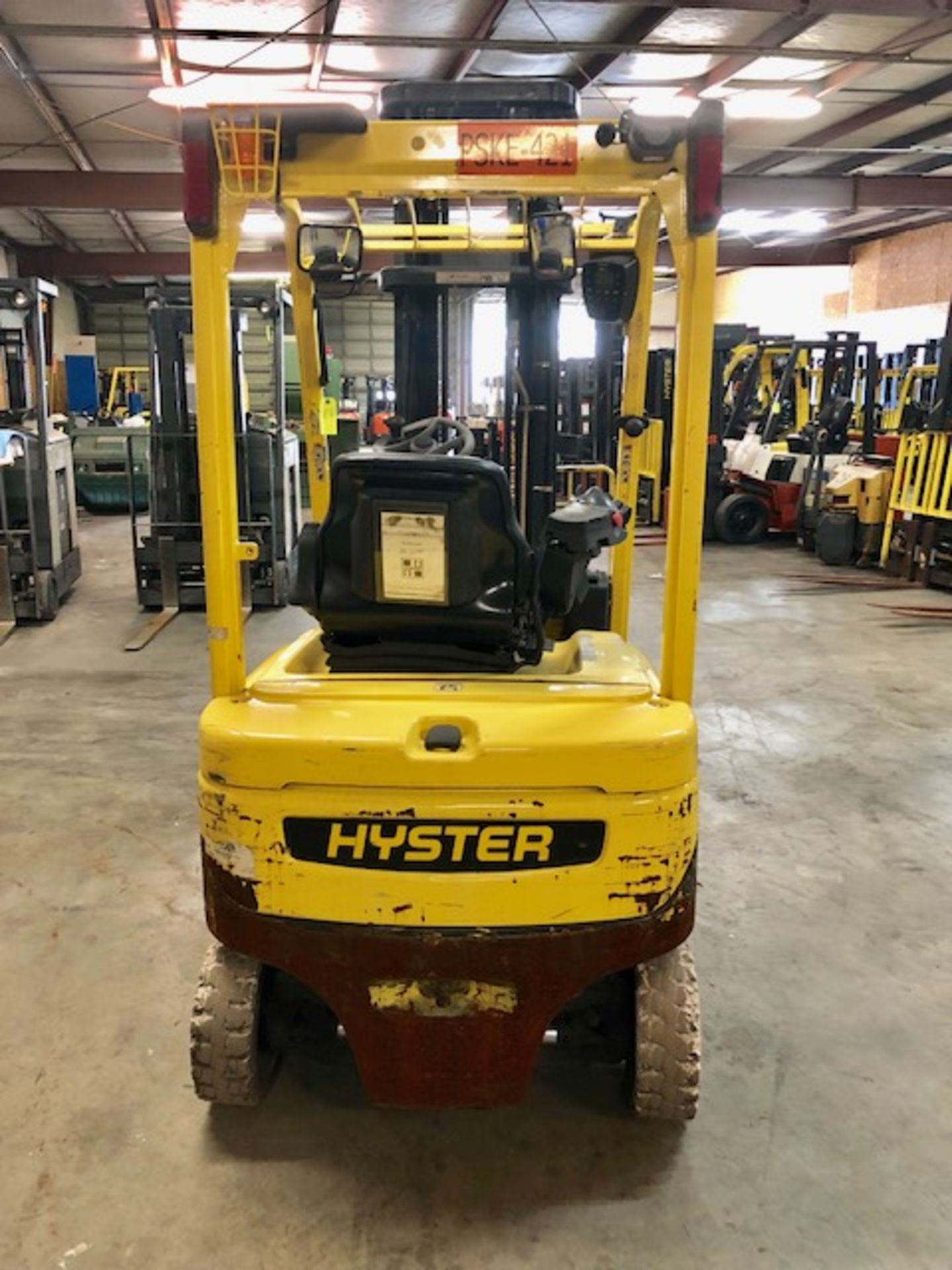 Lot 10 - Hyster forklift J40XN w/48V battery