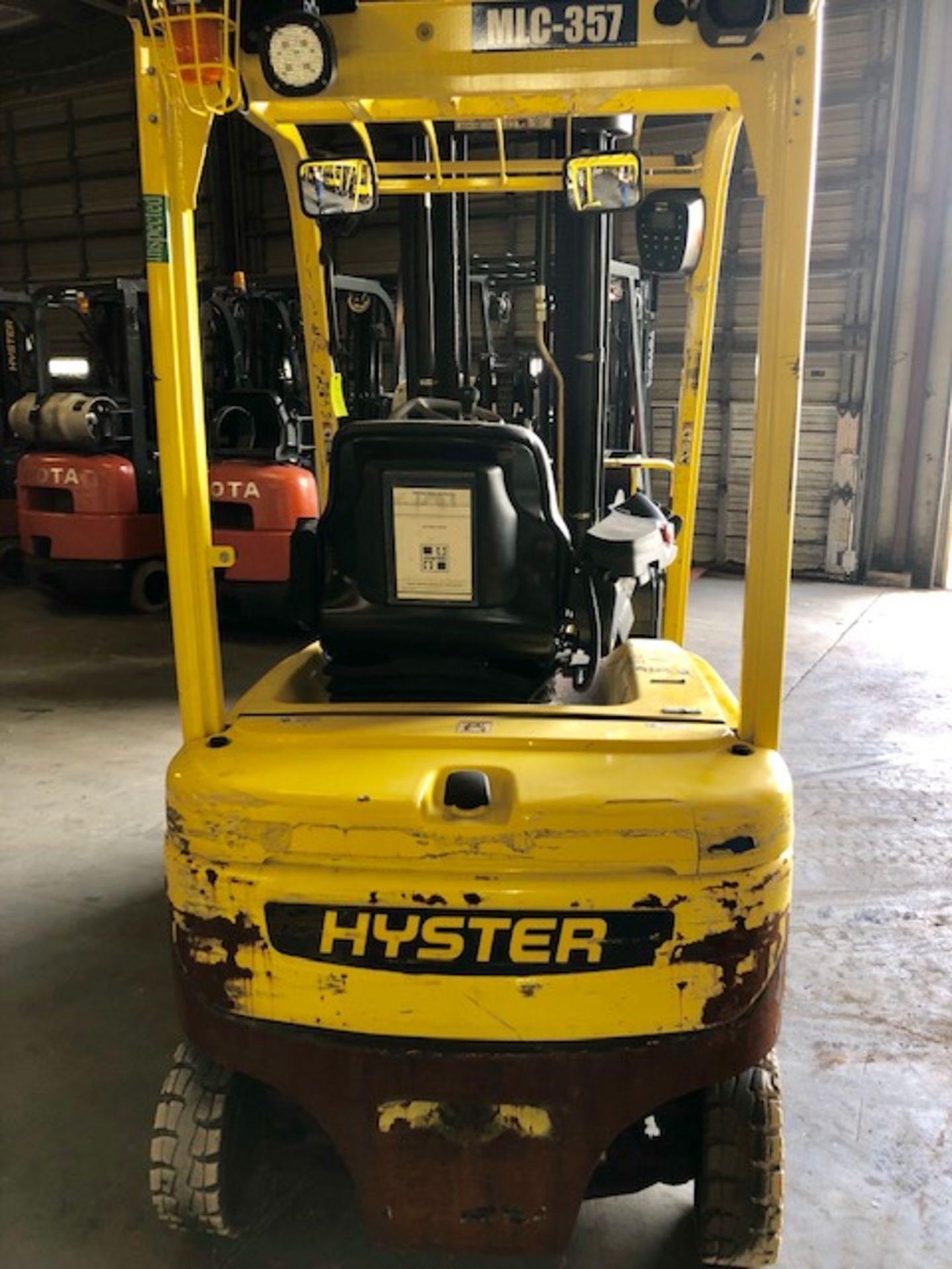 Lot 16 - Hyster forklift J40XN w/o battery 48V