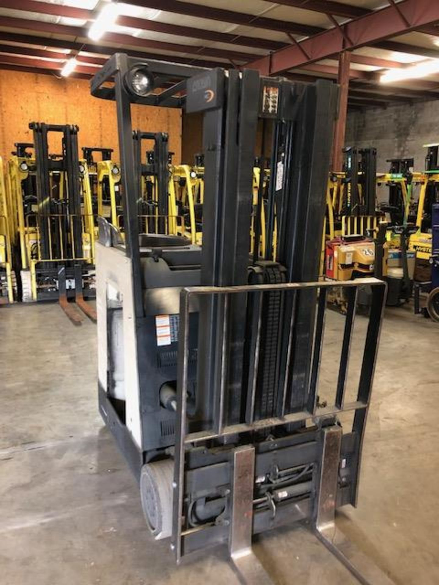 Lot 40 - Crown Stand Up forklift