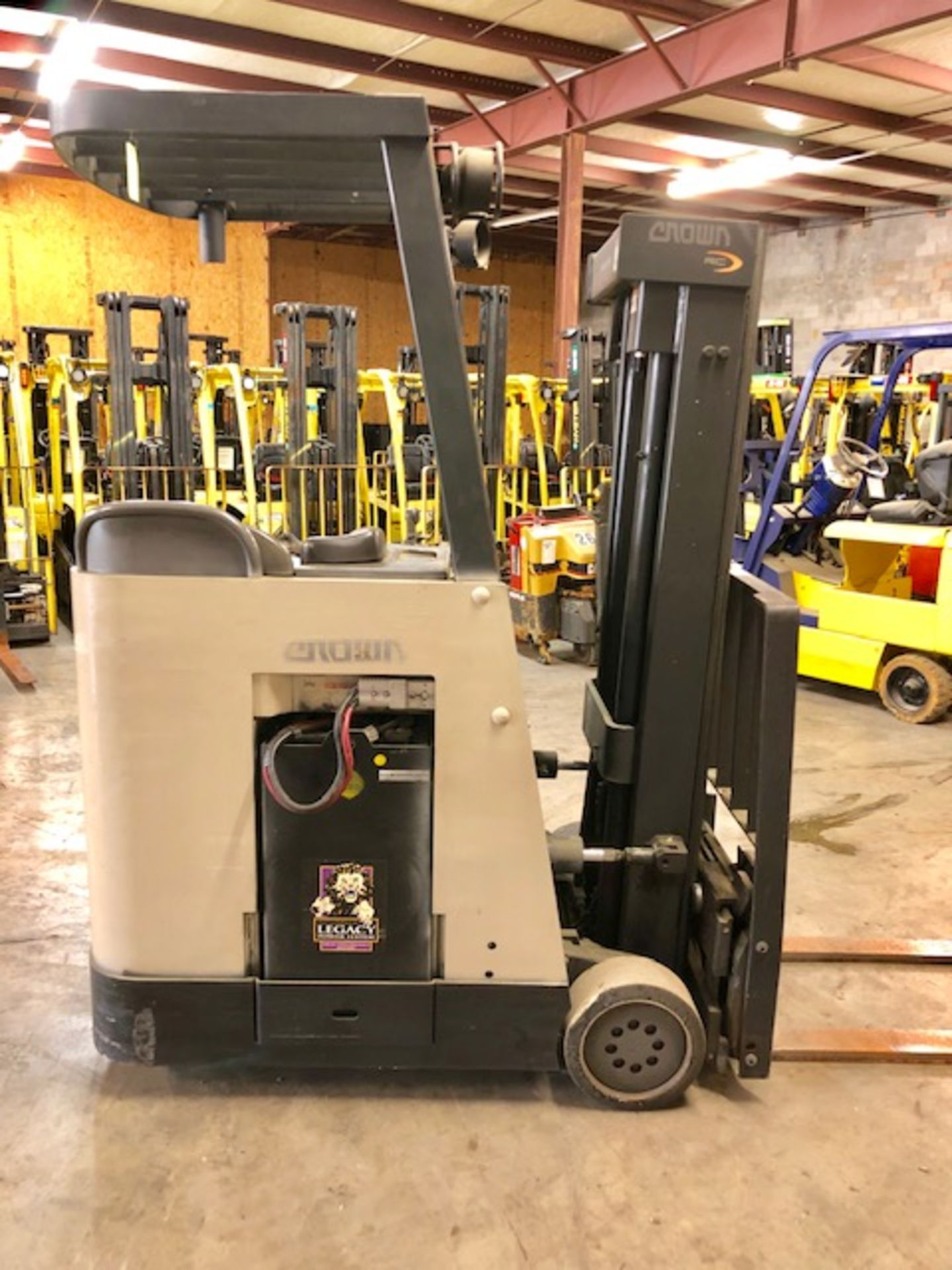 Lot 38 - Crown Stand Up forklift