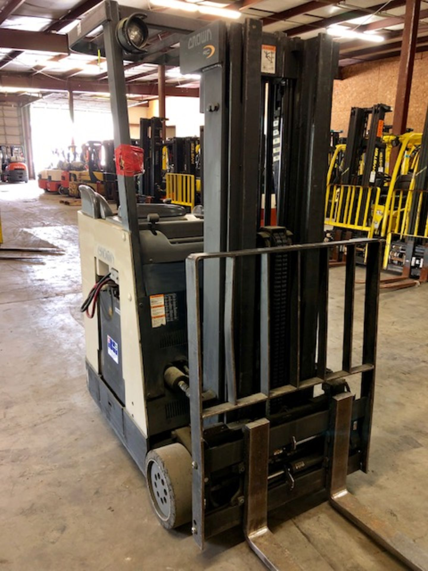 Lot 39 - Crown Stand Up forklift