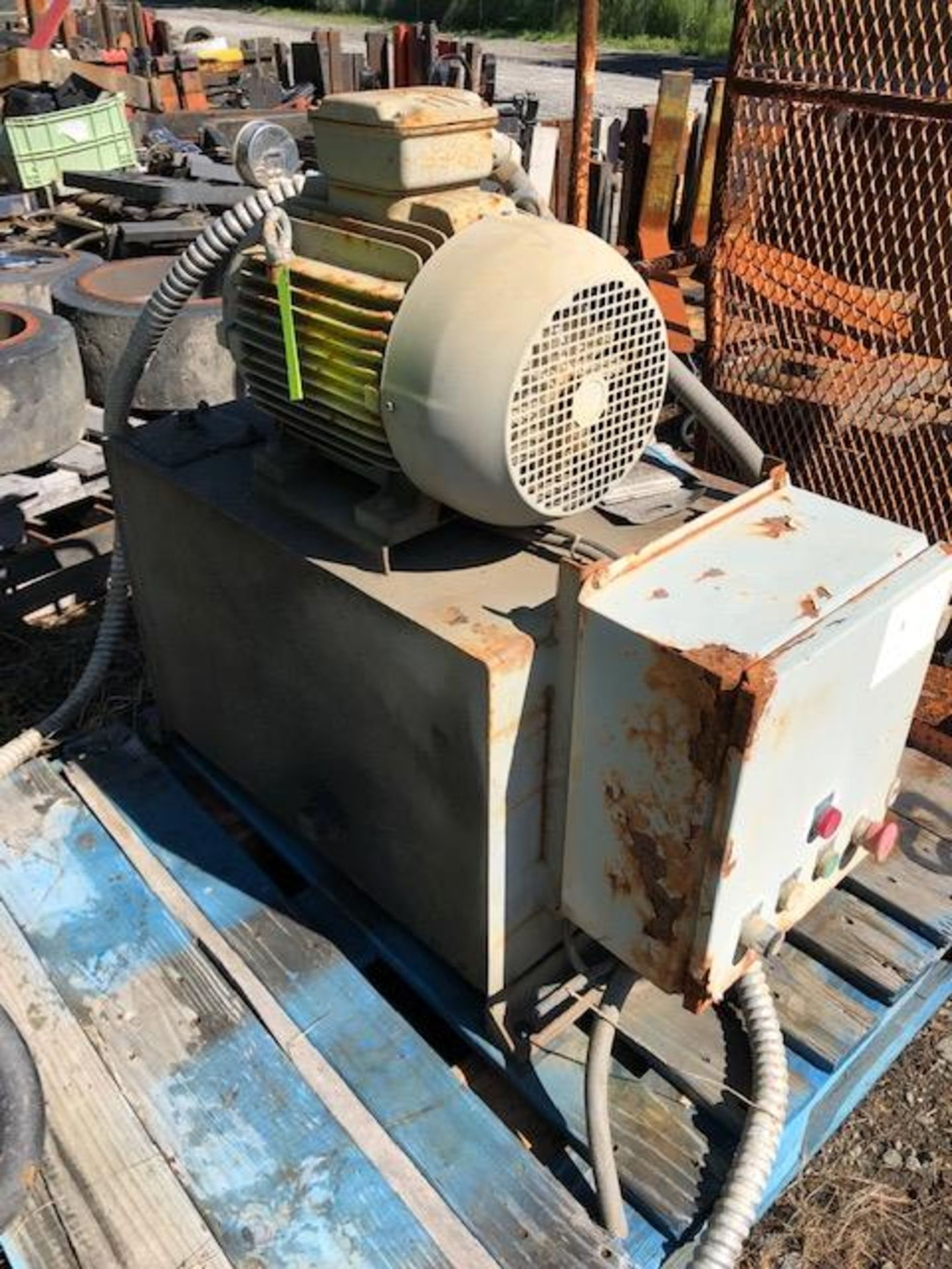 Lot 53 - Vickers Hydraulic Power Pack