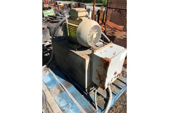 Vickers Hydraulic Power Pack Baldor Motor