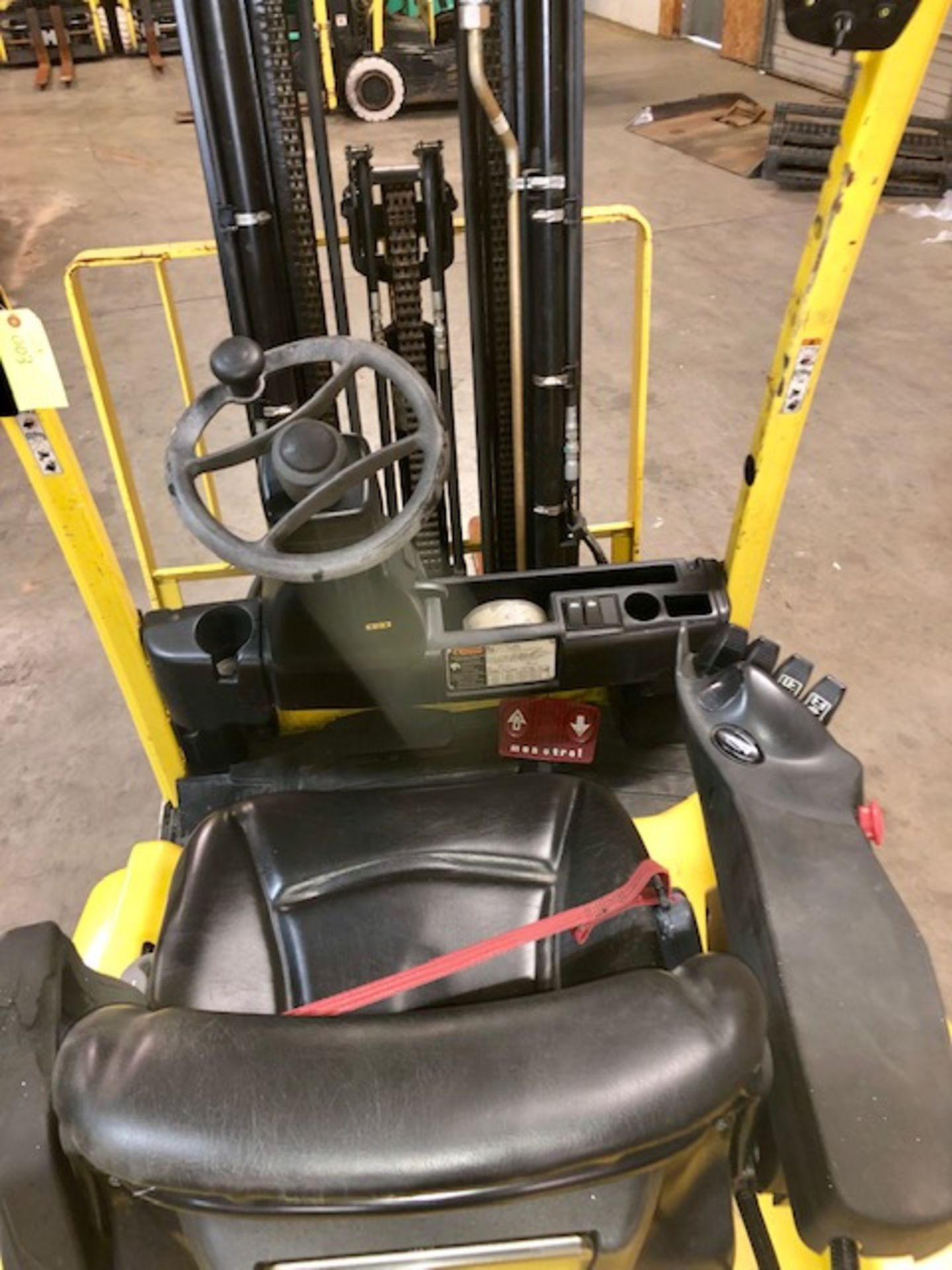 Lot 3 - Hyster forkliftJ40XN w/48V battery