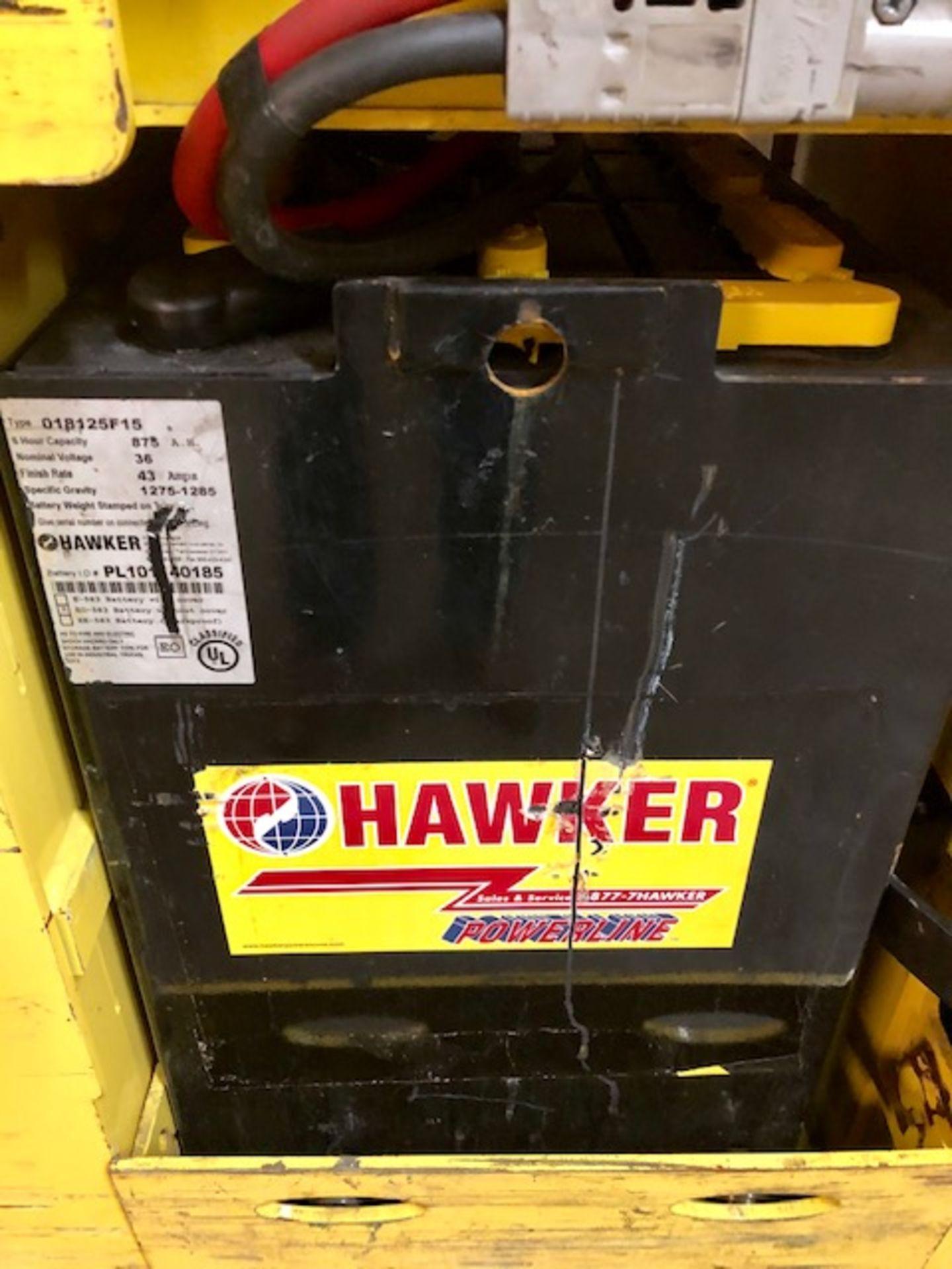 Lot 67 - Hyster E40 HSD2 forklift