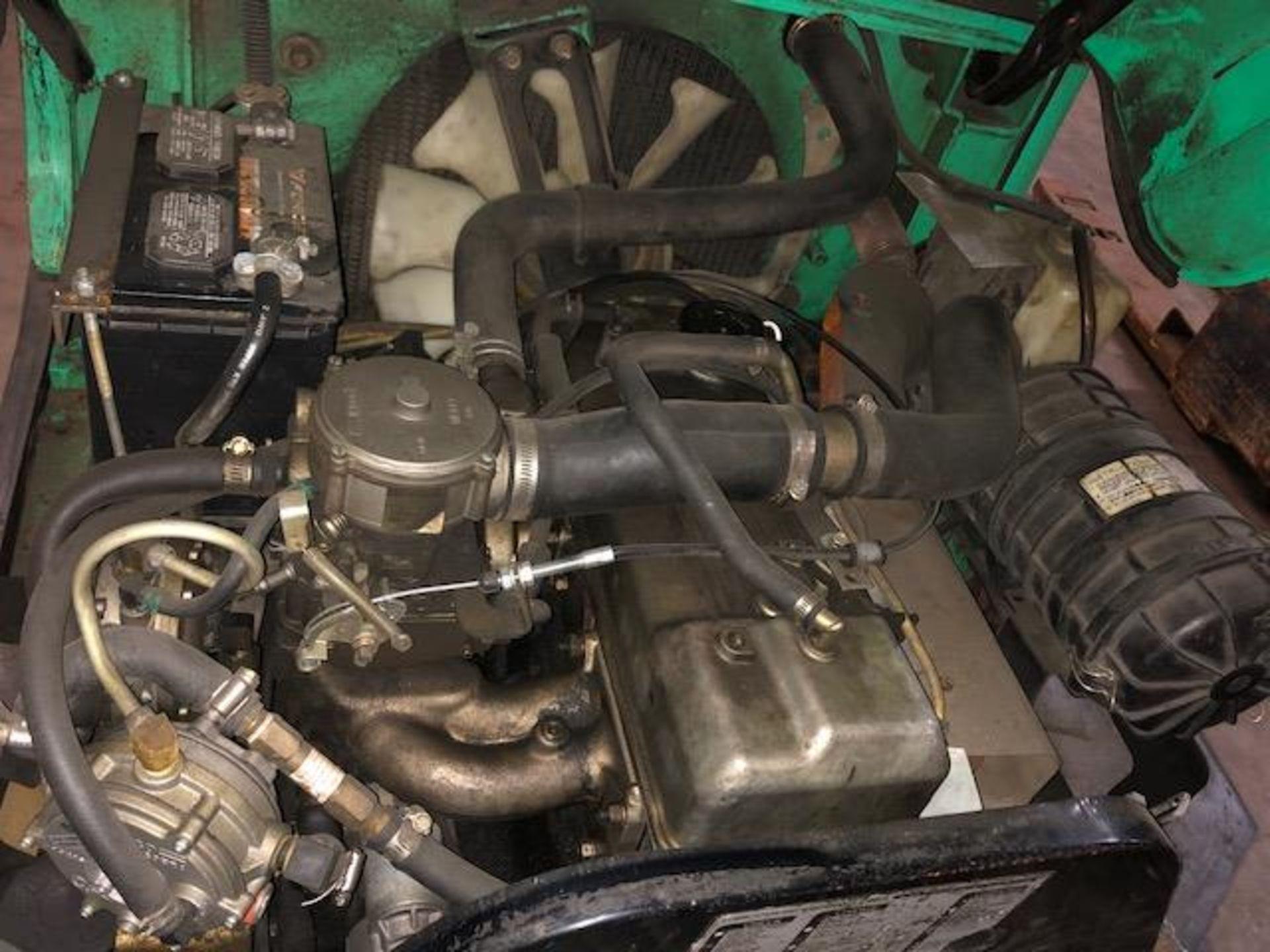 Lot 32 - Mitsubishi FGC15K forklift