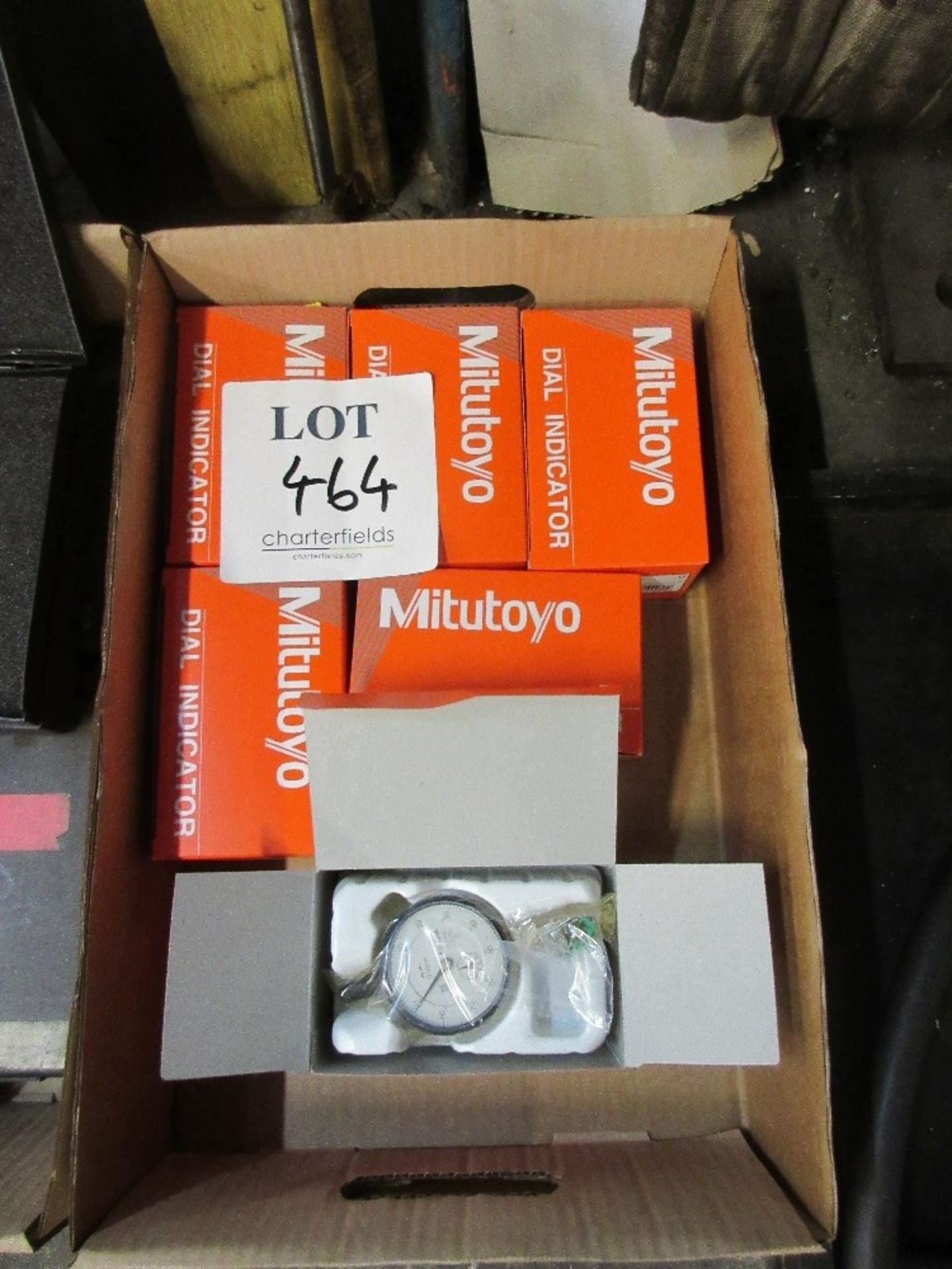 Lot 464 - 6 - Mitutoyo dial indicators