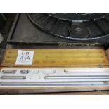 Lot 474 - Adjustable inside micrometer set