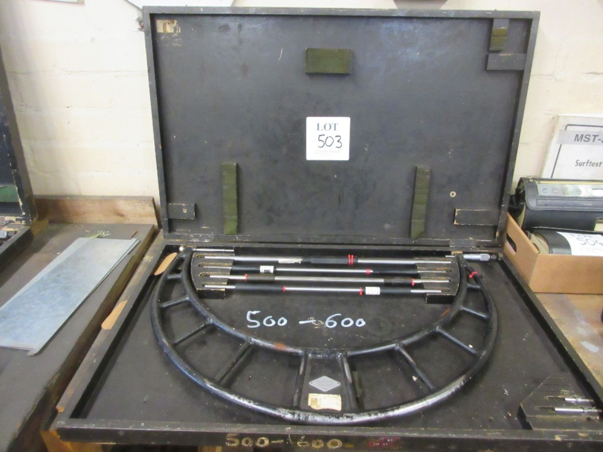 Lot 503 - Moore & Wright combination micrometer 500 - 600