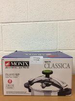 Lot 3 - Braisogona Monix Pressure Cooker 4L RRP £79.99