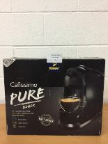 Lot 2 - Brand new Tchibo Cafissimo Pure Coffee Machine bundle RRP £159.99