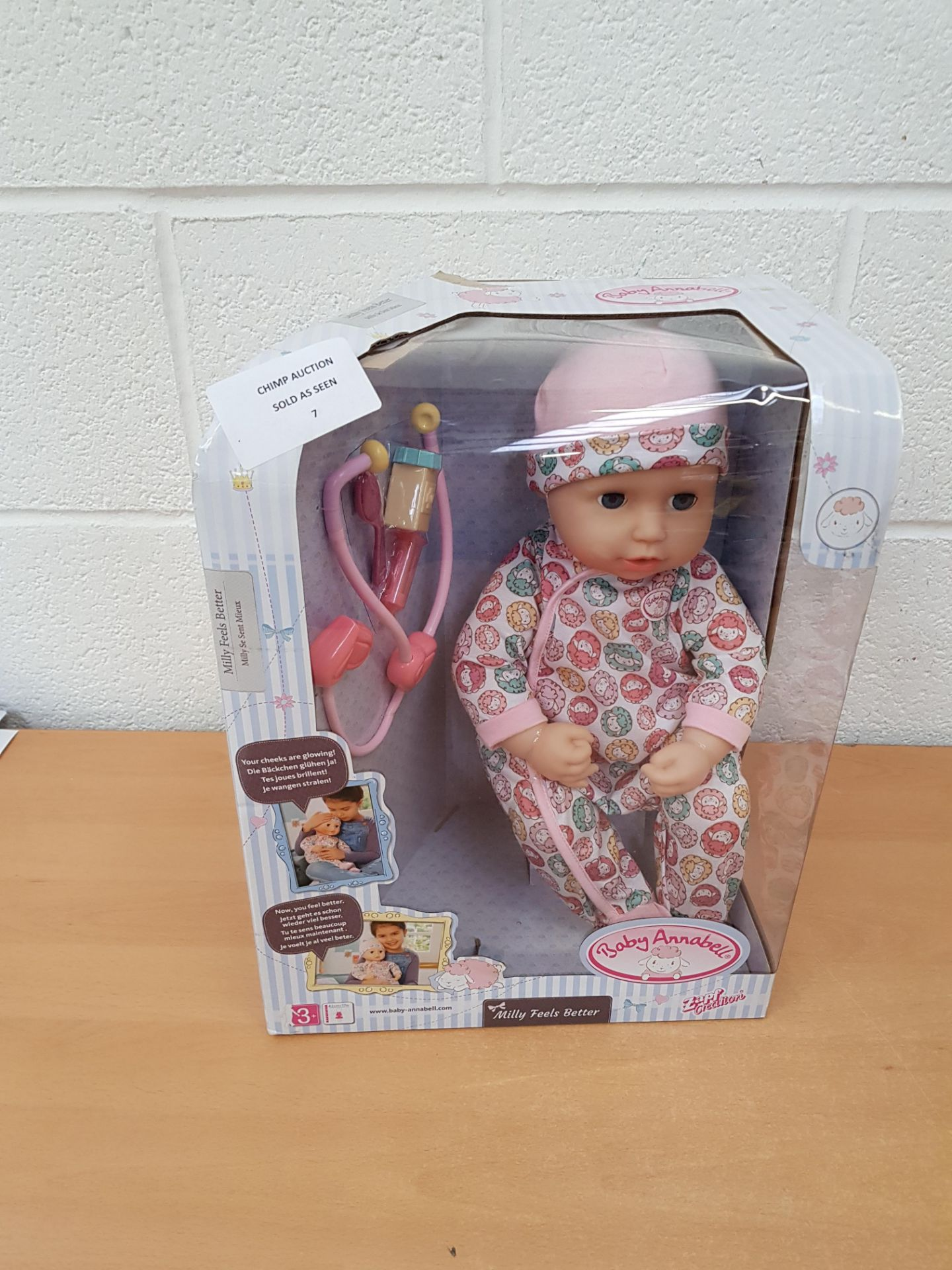 Lot 7 - Baby Annabell Interactive doll playset RRP £59.99