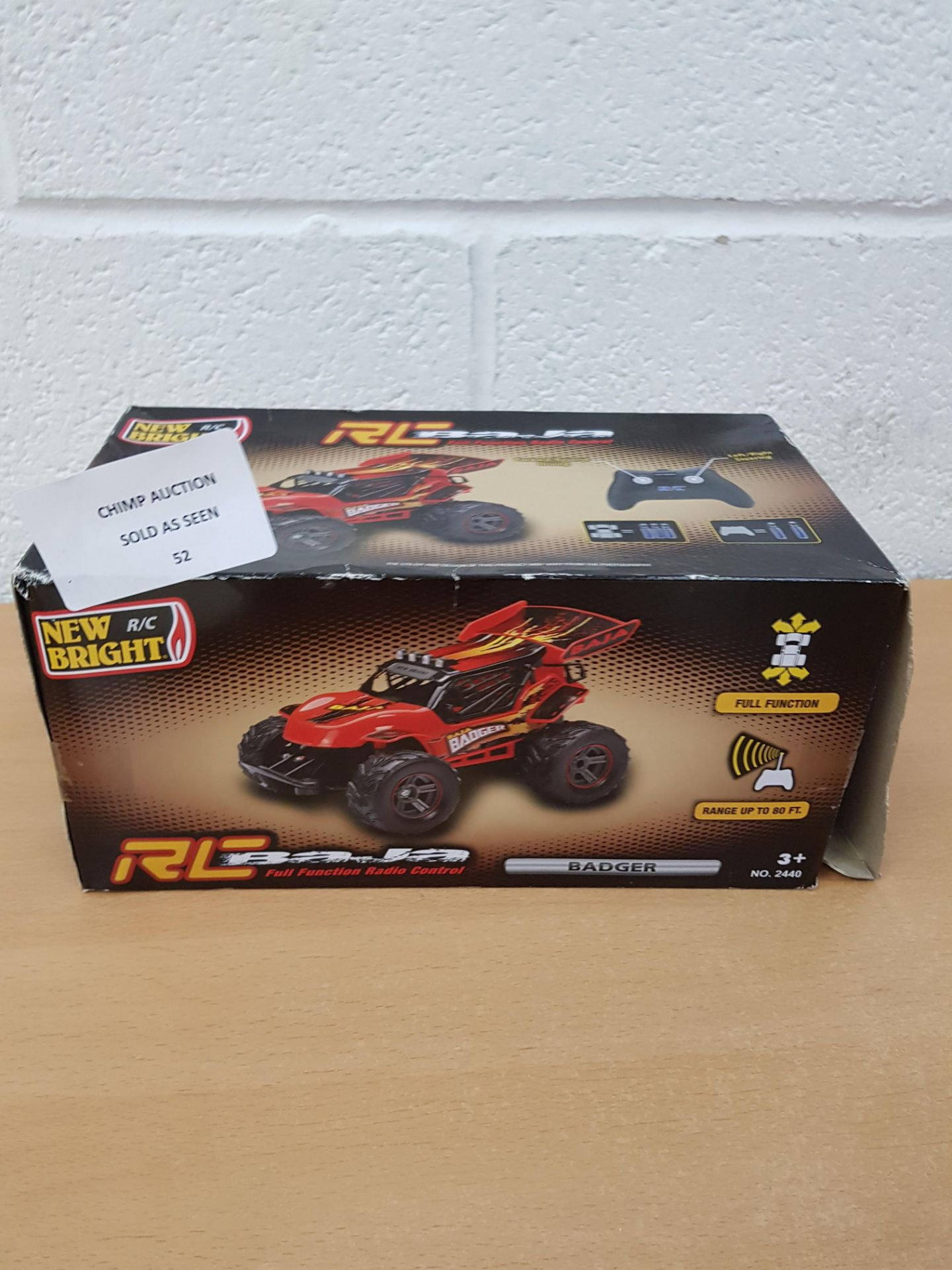 Lot 52 - N-Bright RC Baja remote controlled Truck