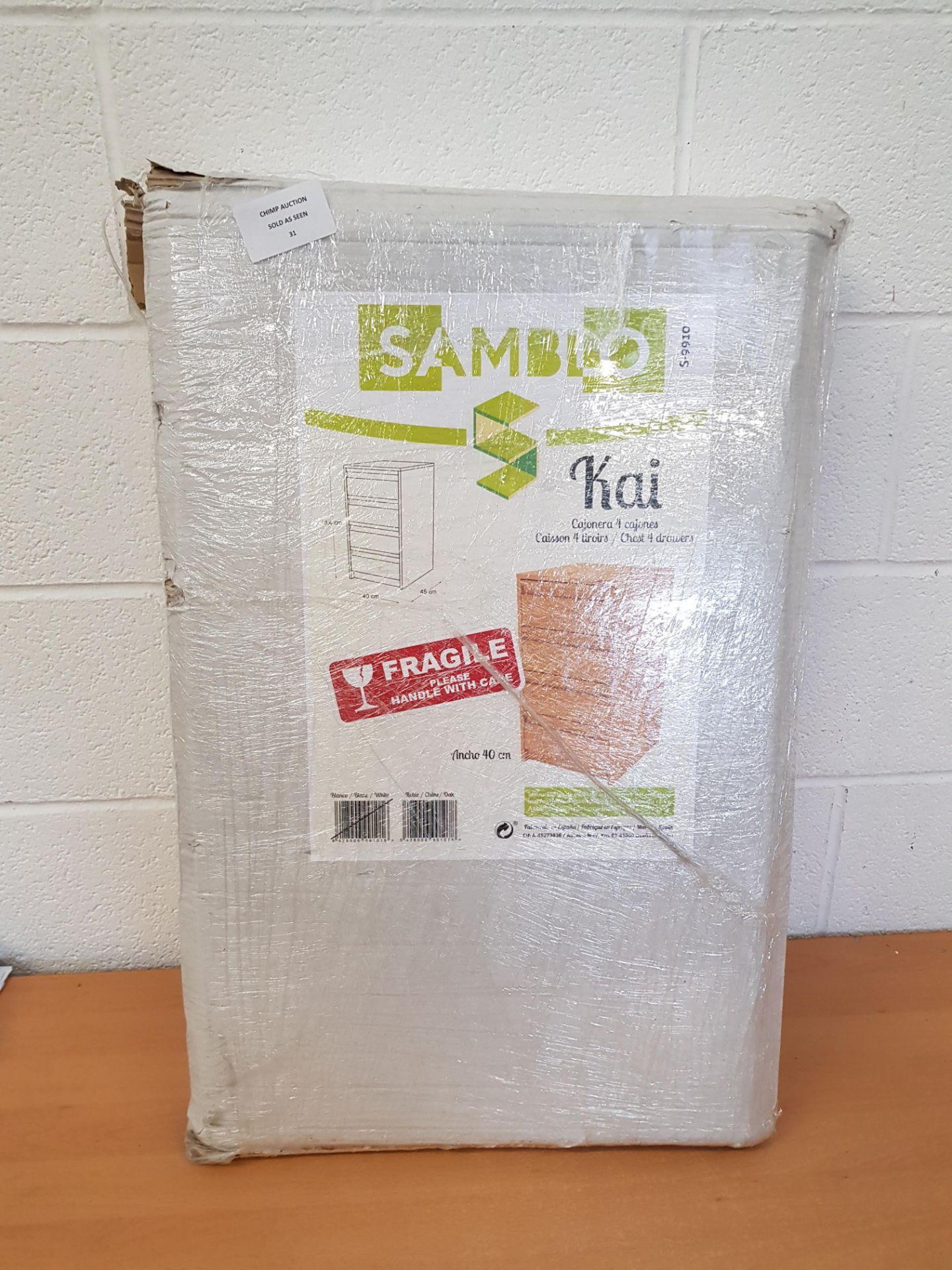 Lot 31 - Samblo Kai Flat Packed Furniture