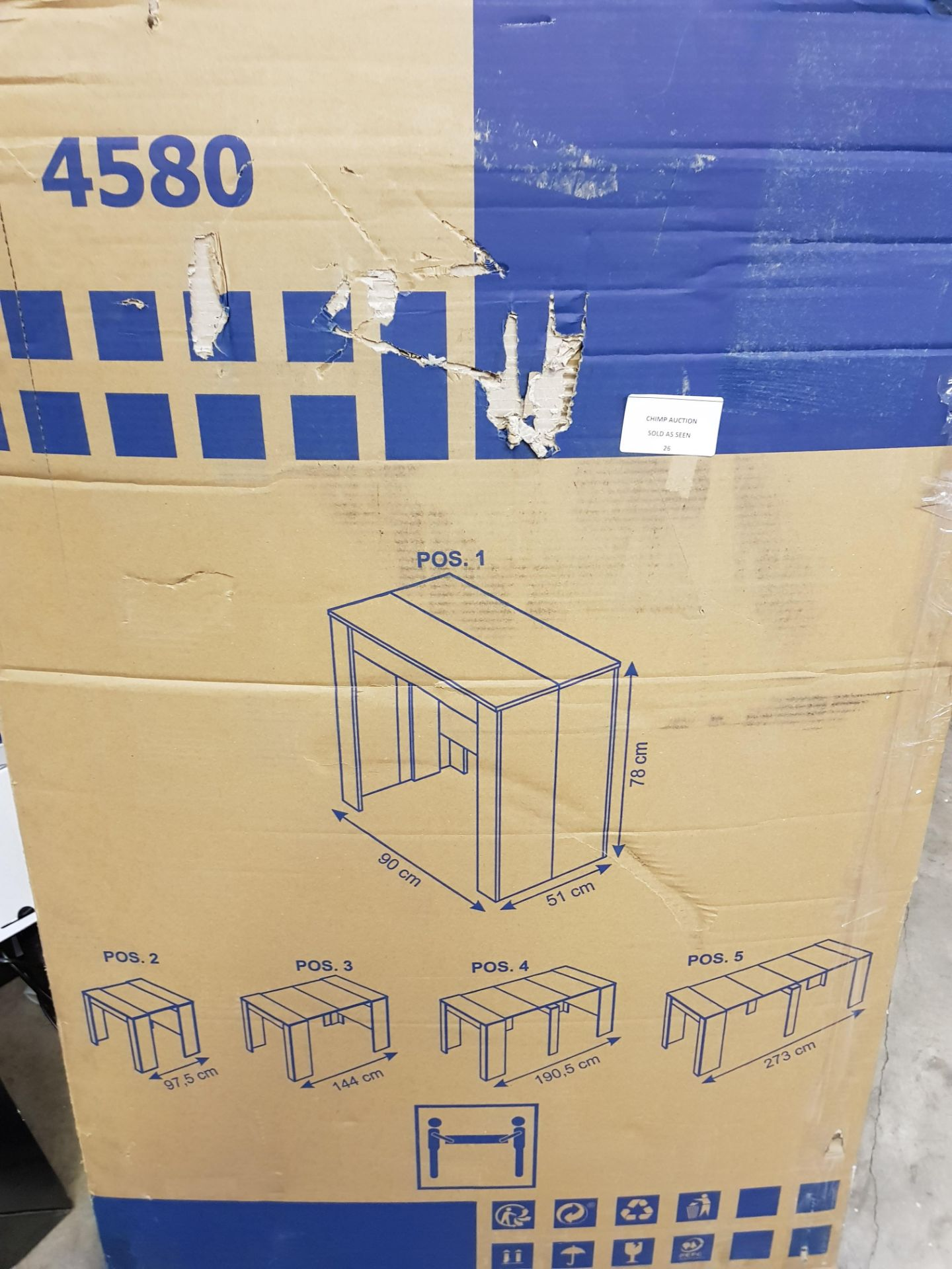 Lot 26 - Flat Packed Furniture